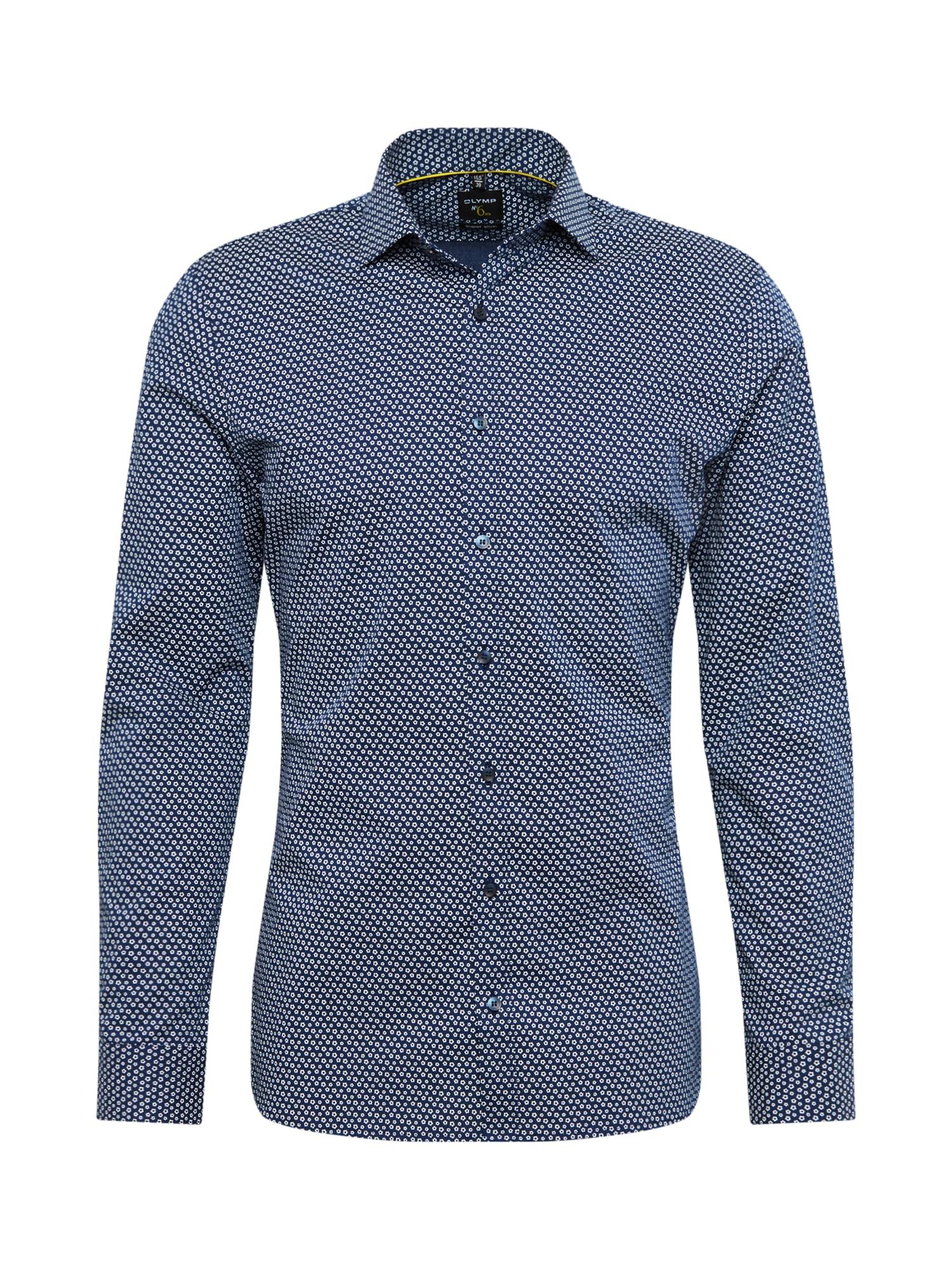 Společenská košile námořnická modř OLYMP