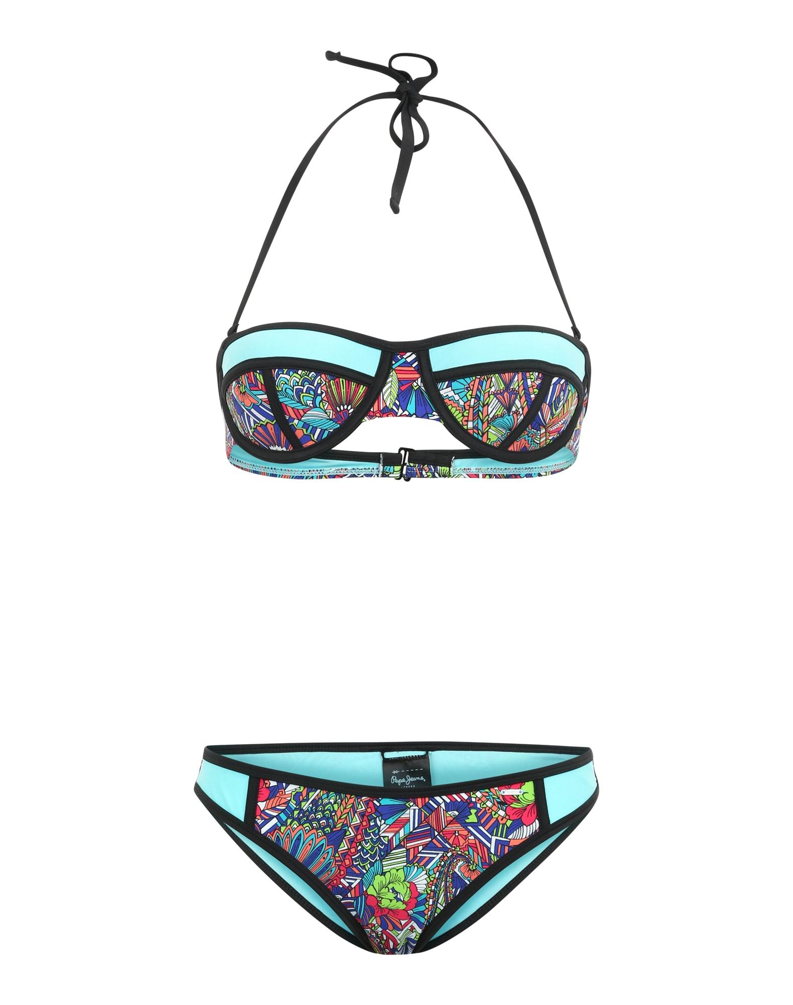 Pepe Jeans Dames Bikini Lyric turquoise gemengde kleuren