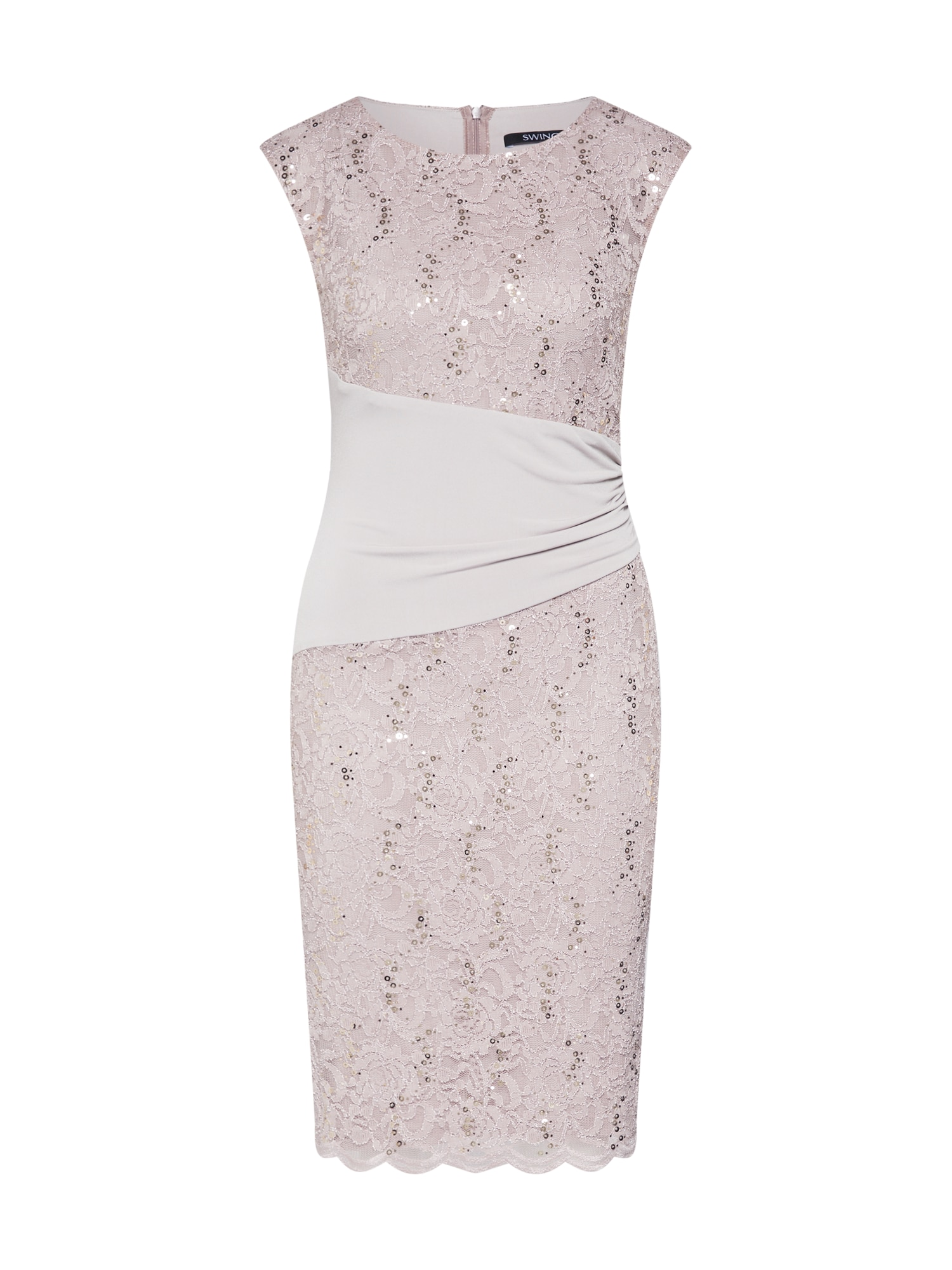 SWING Sukienka koktajlowa  ciemnoszary