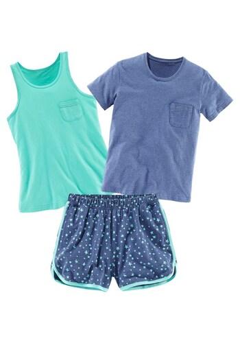 Pyjama-Set (3-tlg.)
