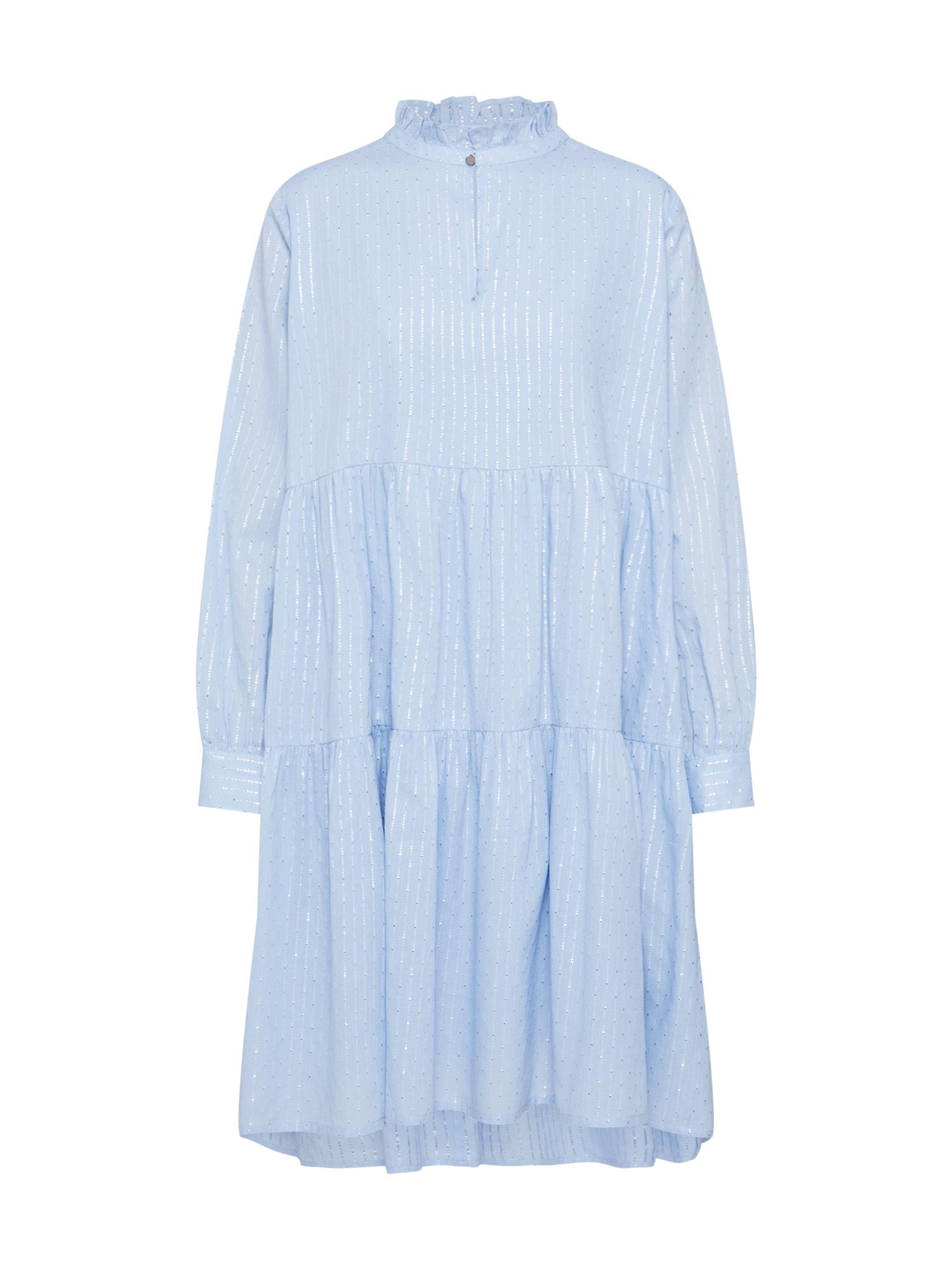 Sofie Schnoor Košilové šaty  světlemodrá