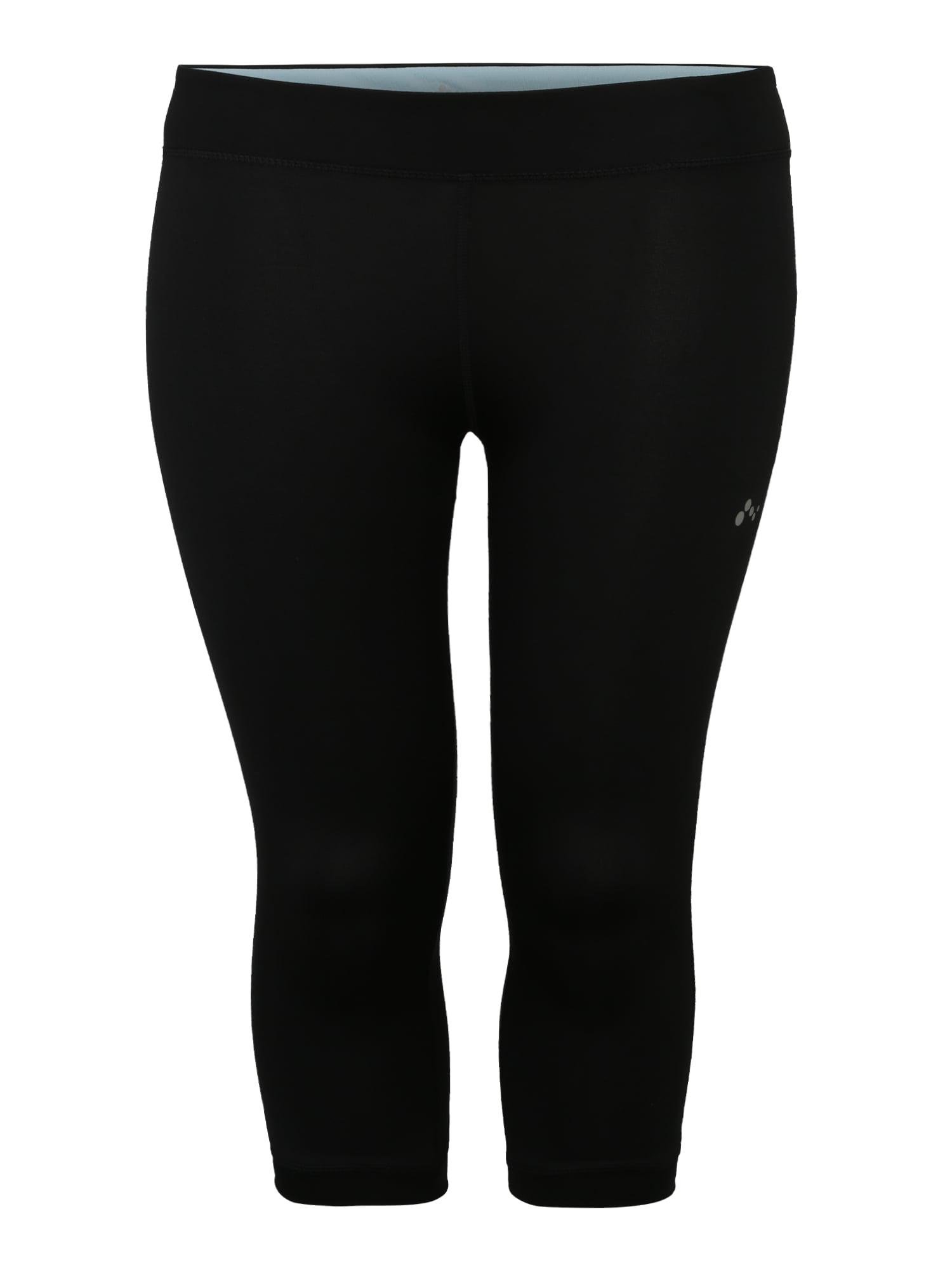 Sportovní kalhoty onpCALINDA černá Only Play Curvy