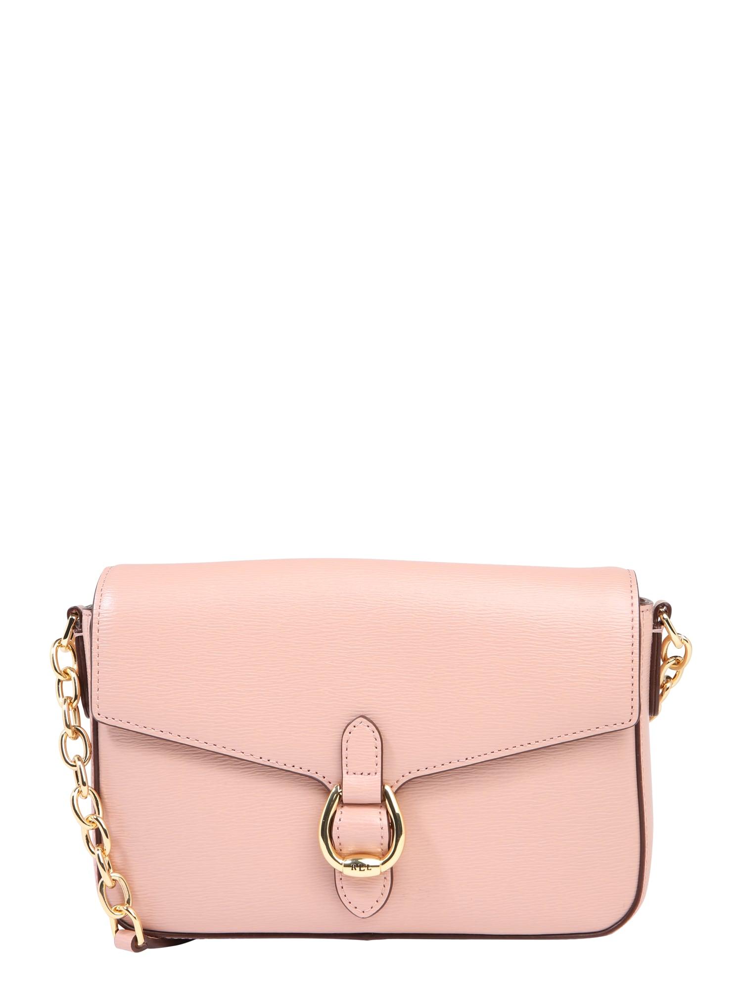 Taška přes rameno FLAP XBODY-CROSSBODY-MEDIUM růžová Lauren Ralph Lauren