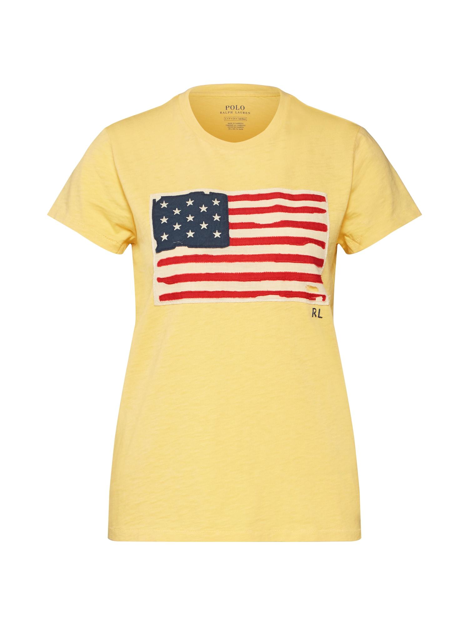 Tričko žlutá mix barev POLO RALPH LAUREN