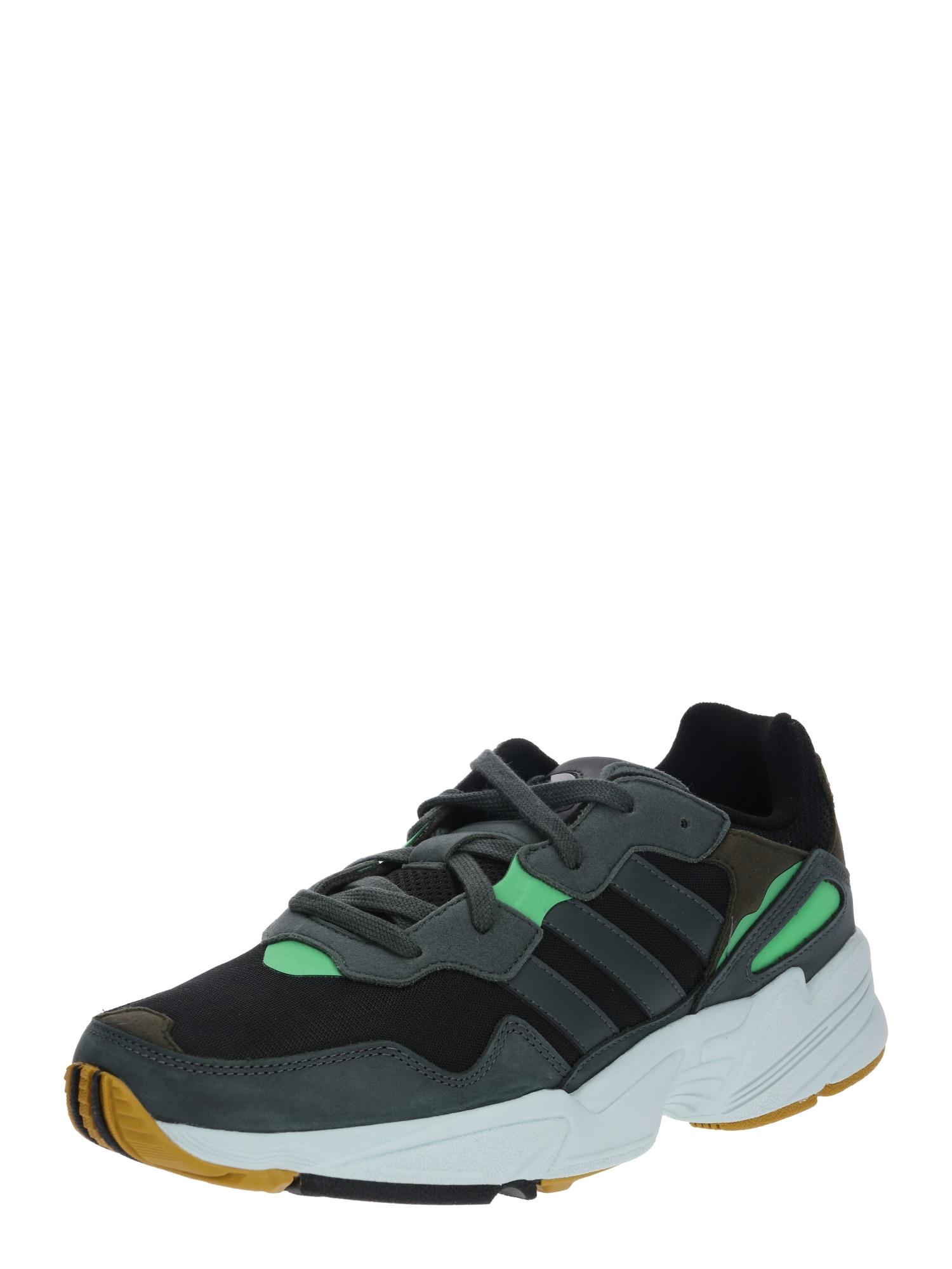 ADIDAS ORIGINALS, Heren Sneakers laag 'YUNG 96', neongroen / zwart