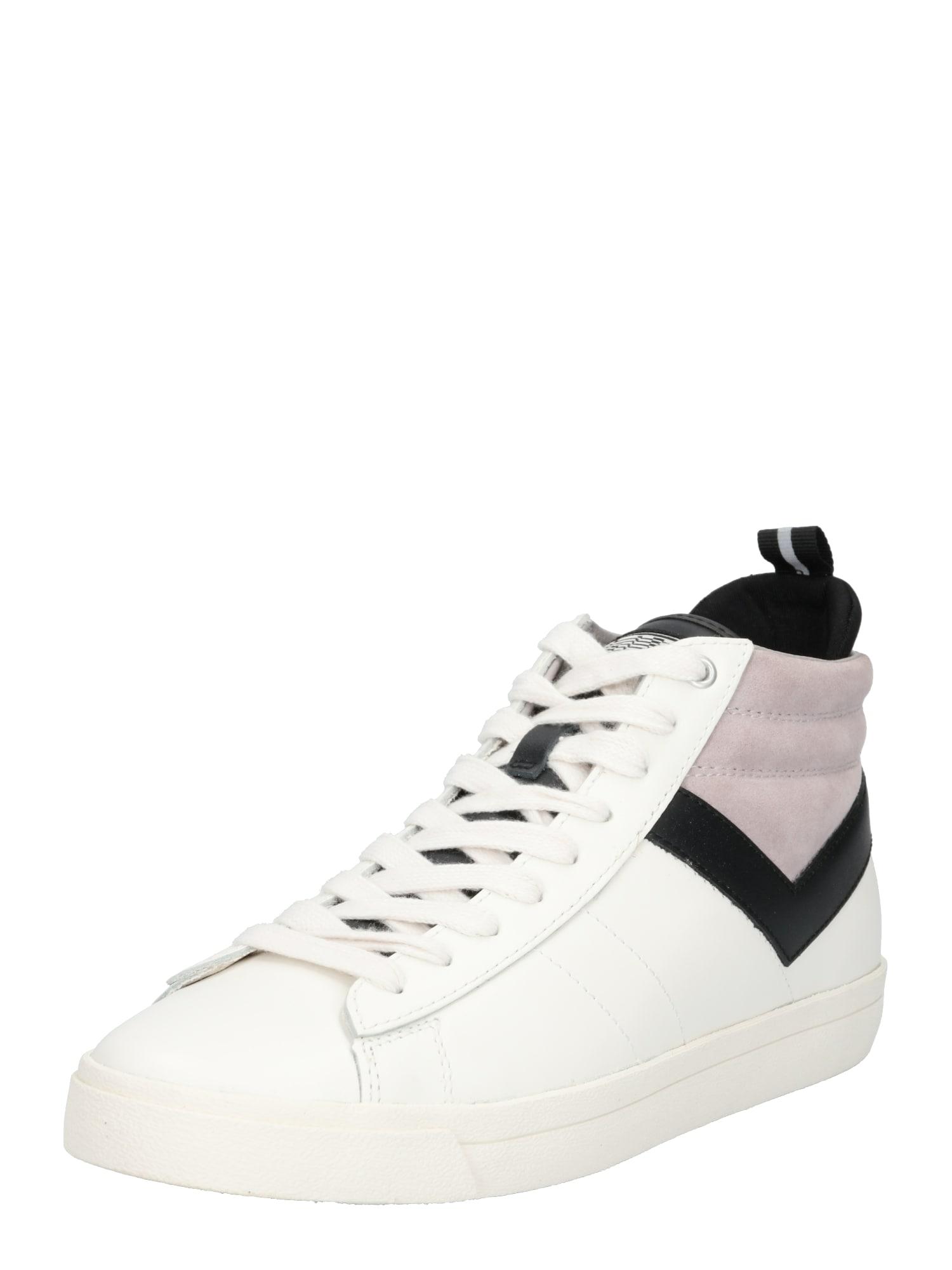 Kotníkové tenisky TOPSTAR šedá černá bílá PONY