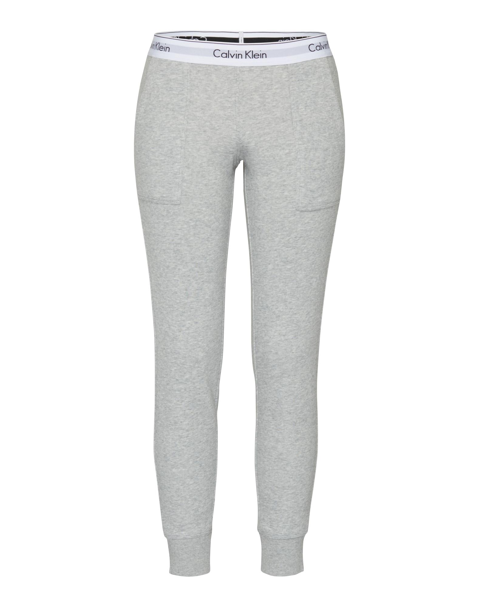 Kalhoty Bottom šedý melír Calvin Klein Underwear