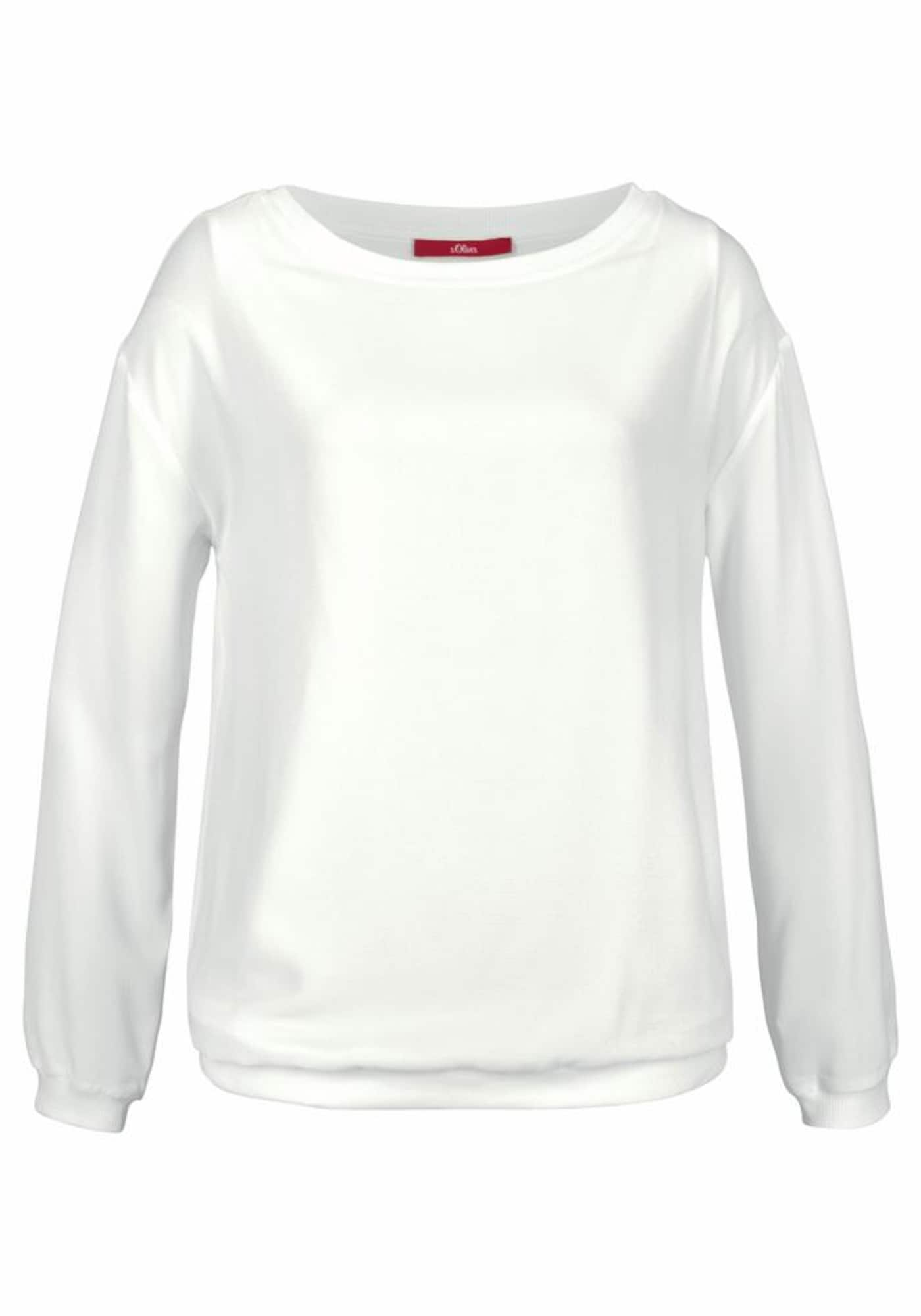 S.Oliver RED LABEL, Dames Sweatshirt, crme