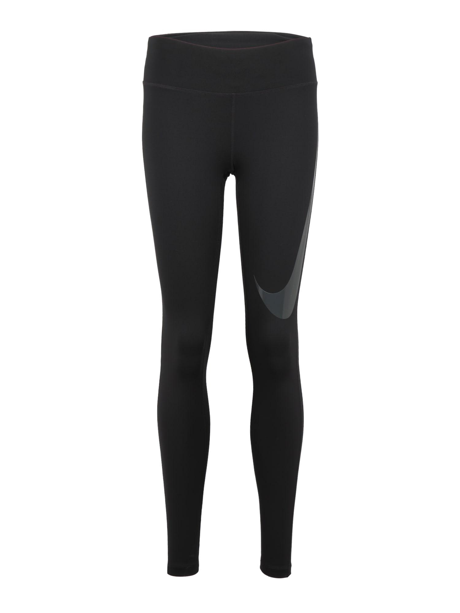 Sportovní kalhoty ESSNTL antracitová černá NIKE