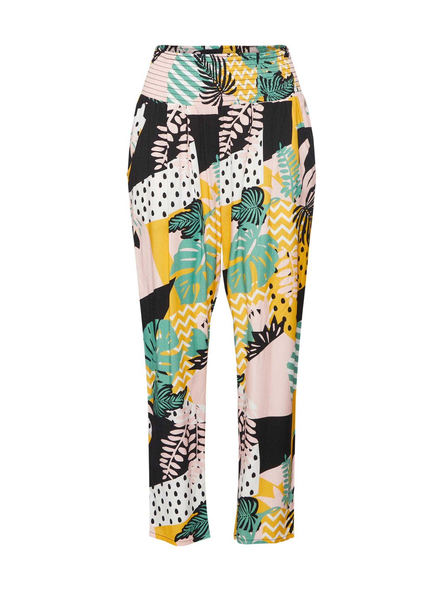 Kalhoty daydream streetlife pants žlutá zelená mix barev Blutsgeschwister