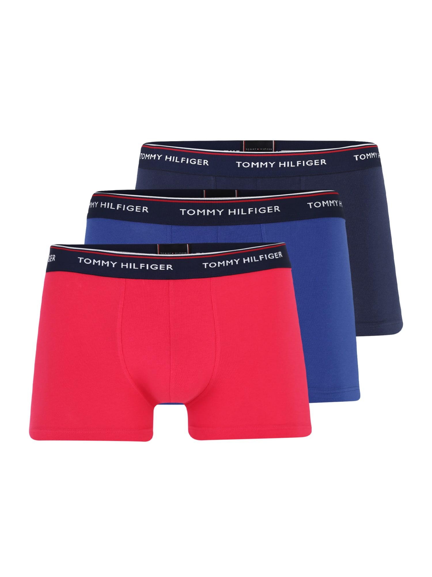 Boxerky Trunk modrá tmavě růžová Tommy Hilfiger Underwear
