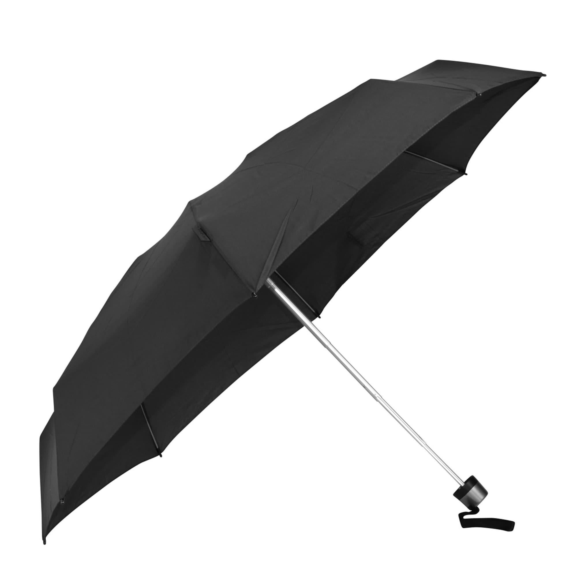 Taschenschirm   Accessoires > Regenschirme   Schwarz   knirps