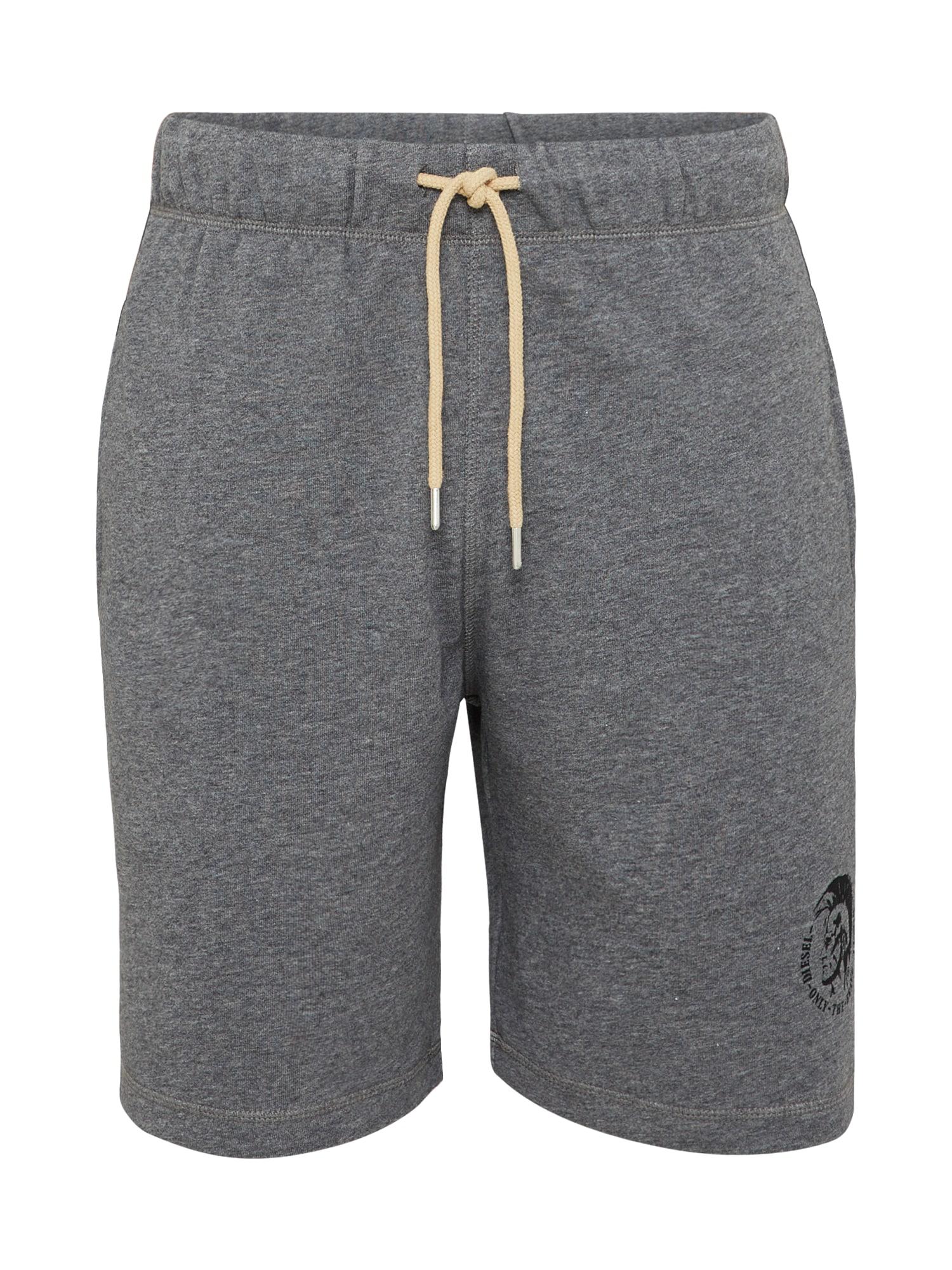 Kalhoty šedý melír DIESEL