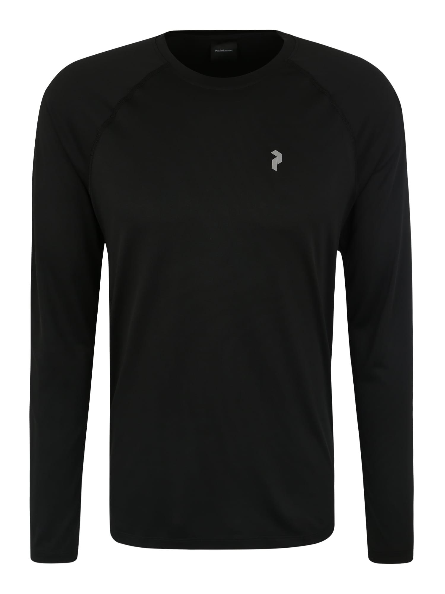 Funkční tričko PROCO2 LS černá PEAK PERFORMANCE
