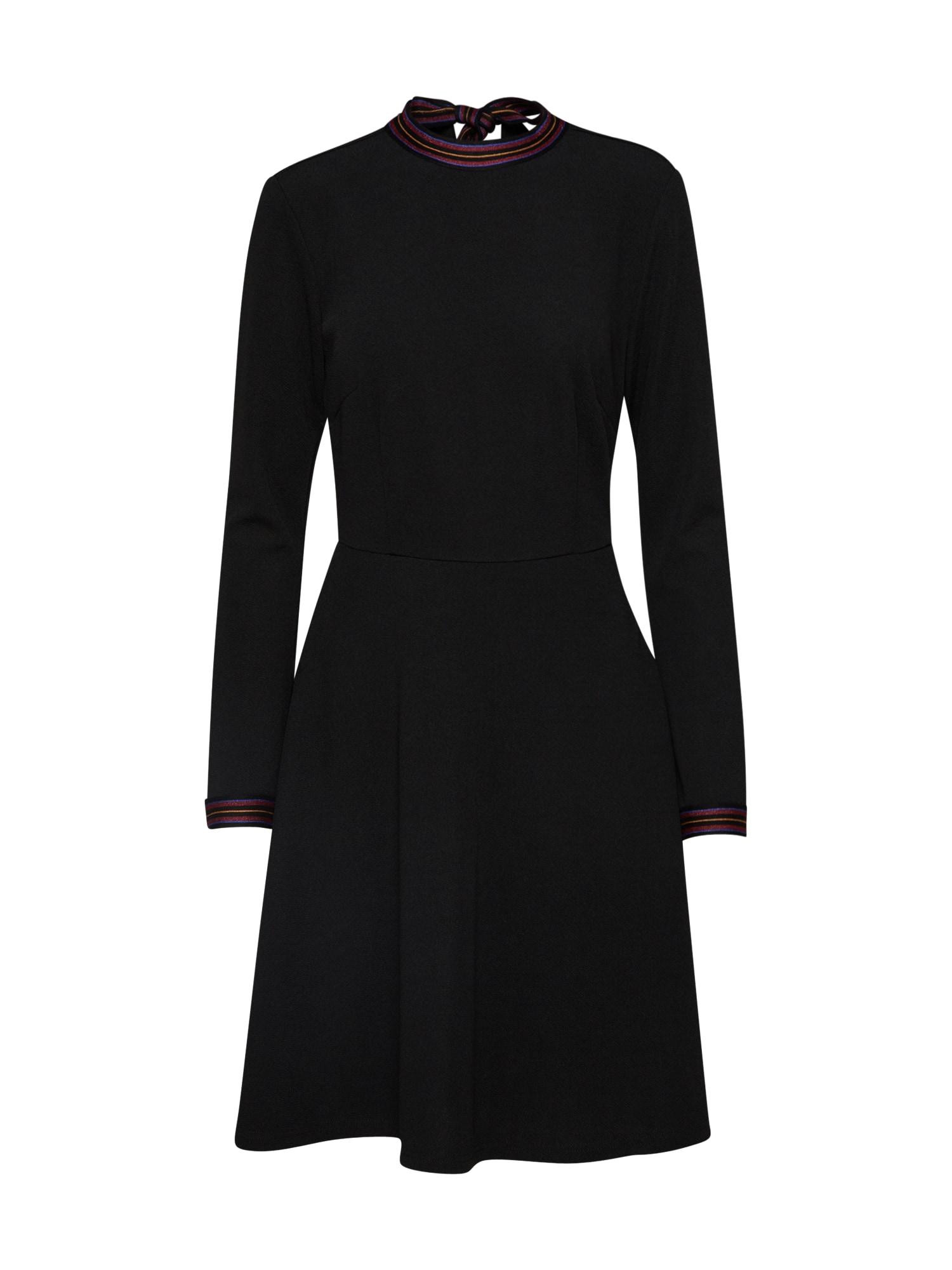 Šaty Dorina černá EDITED