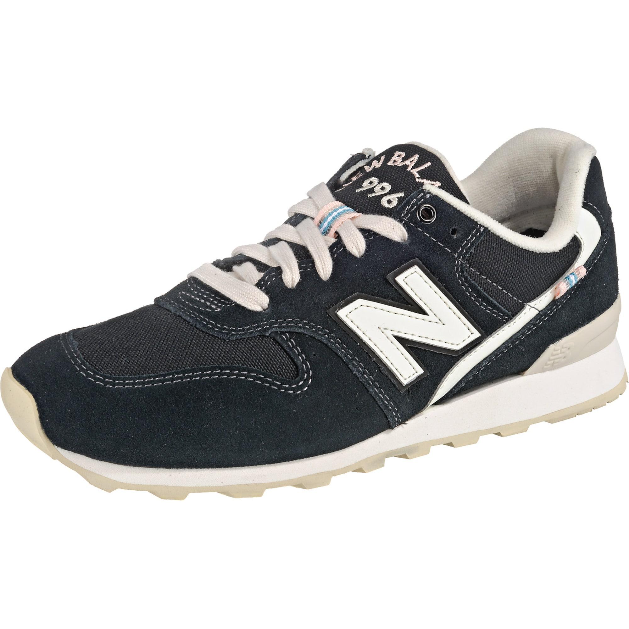 New Balance Tenisky  černá / bílá