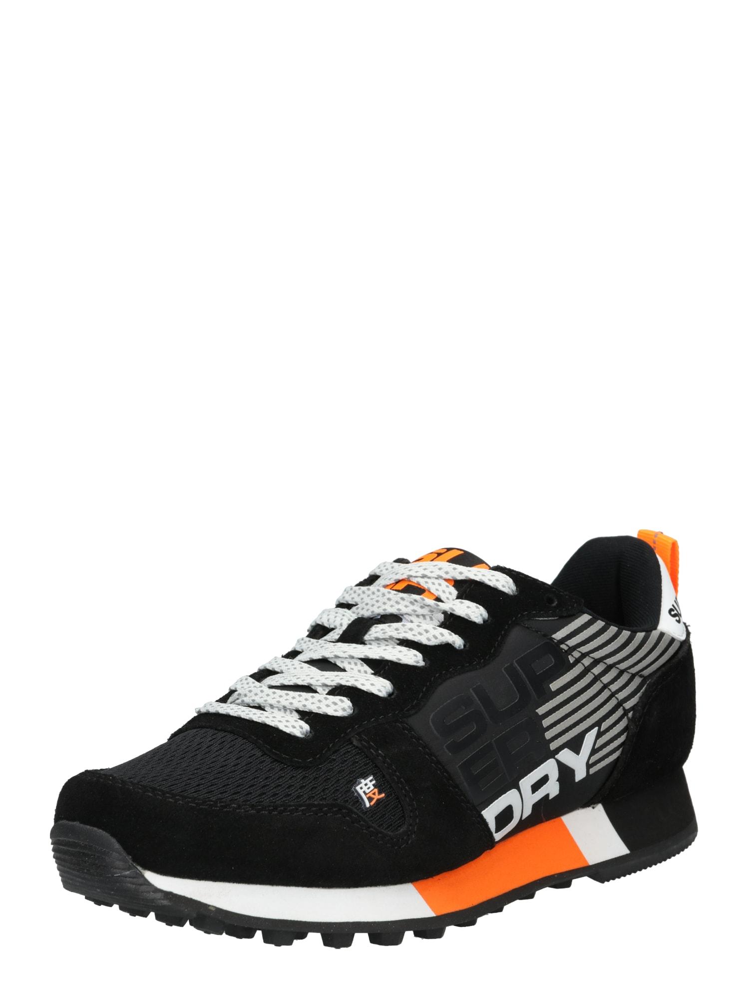 Superdry Tenisky  oranžová / černá