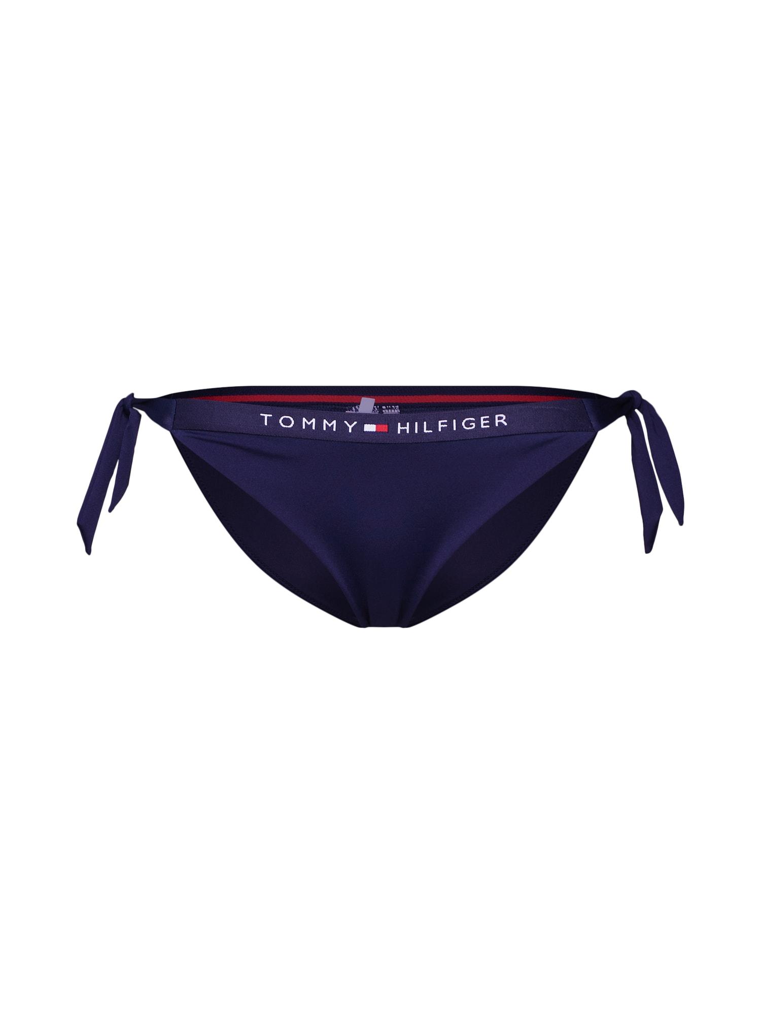 Tommy Hilfiger Underwear, Dames Bikinibroek 'CHEEKY SIDE TIE', navy