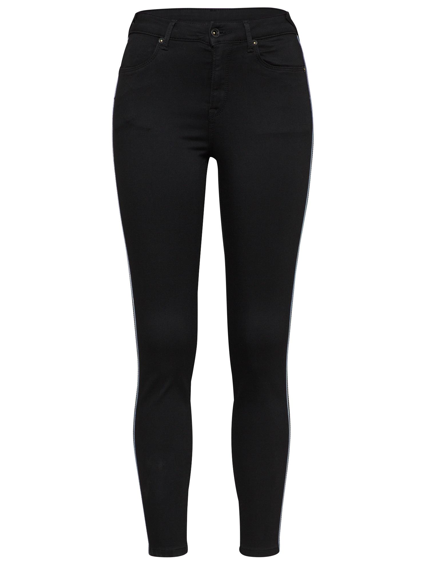 Džíny LOLA HIGH CHARM černá Pepe Jeans