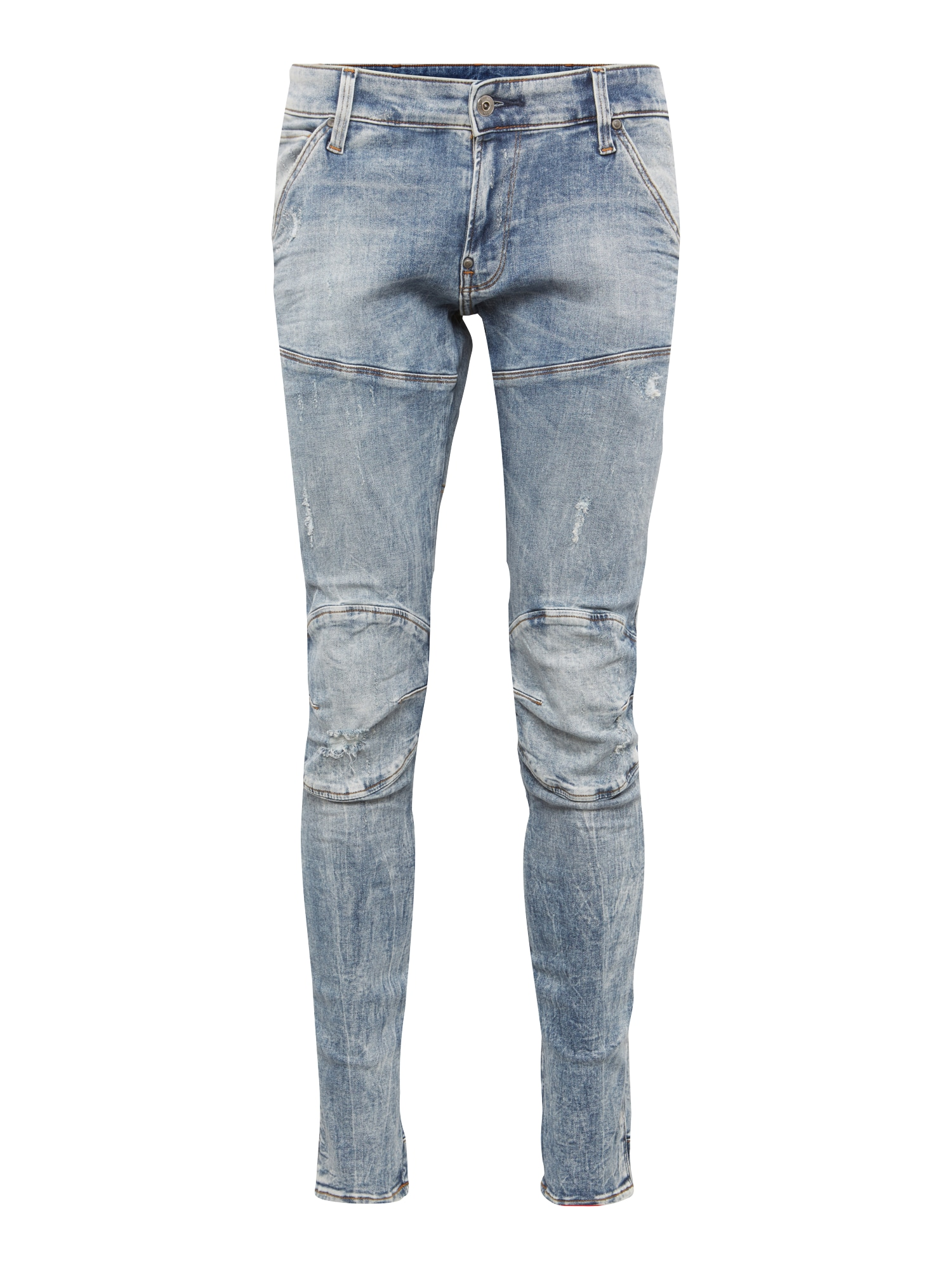 G-STAR RAW Heren Jeans Elwood Super-Slim blue denim