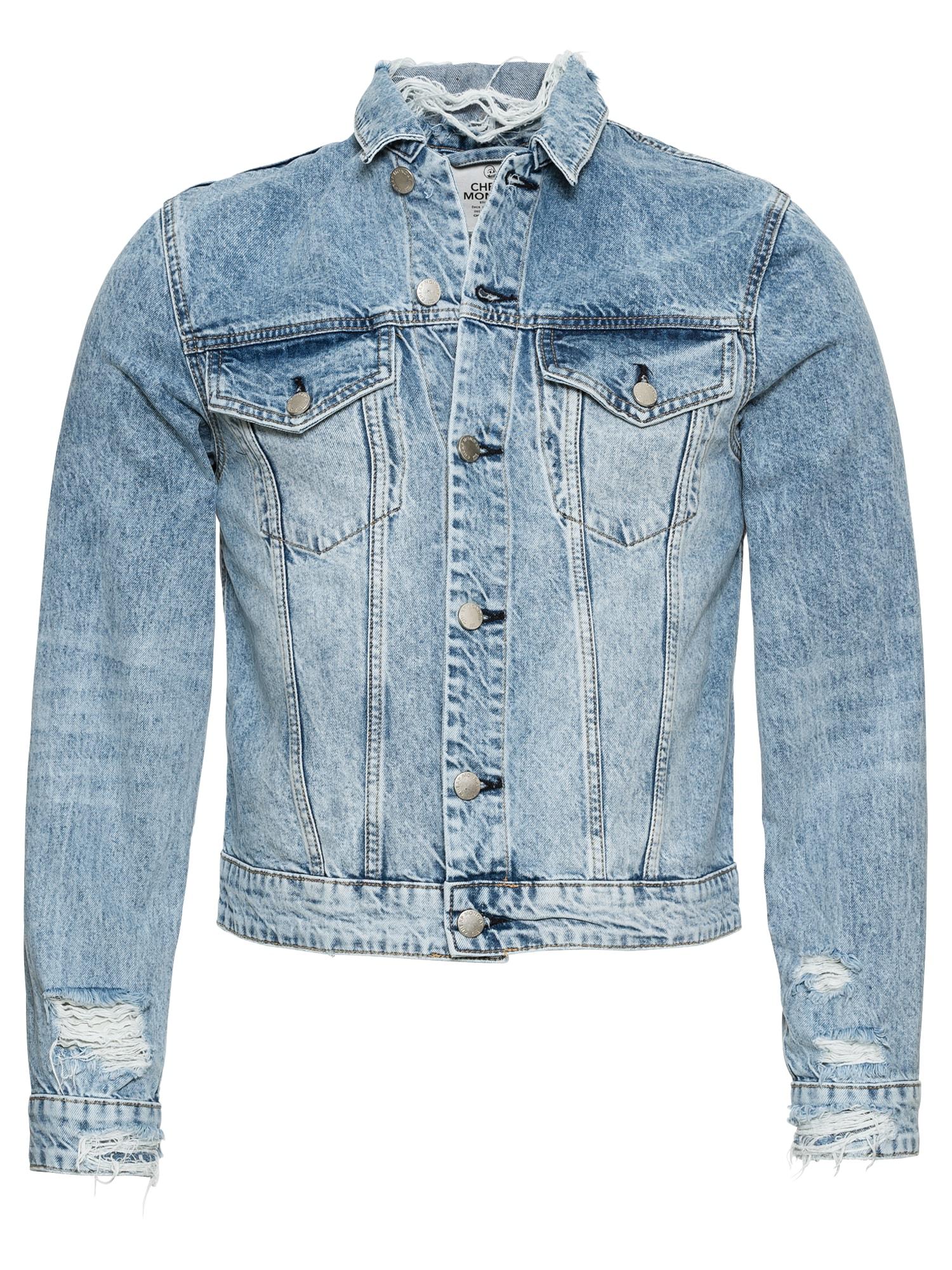 CHEAP MONDAY Heren Tussenjas Legit Jacket blauw denim