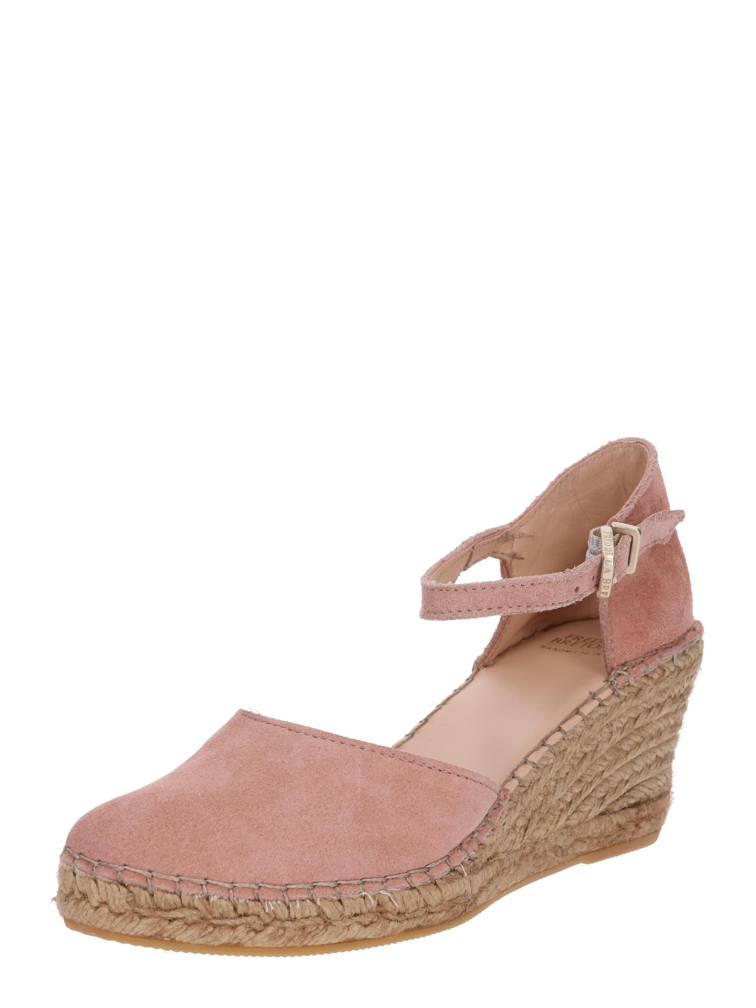 Páskové sandály růžová Fred De La BretoniÈre