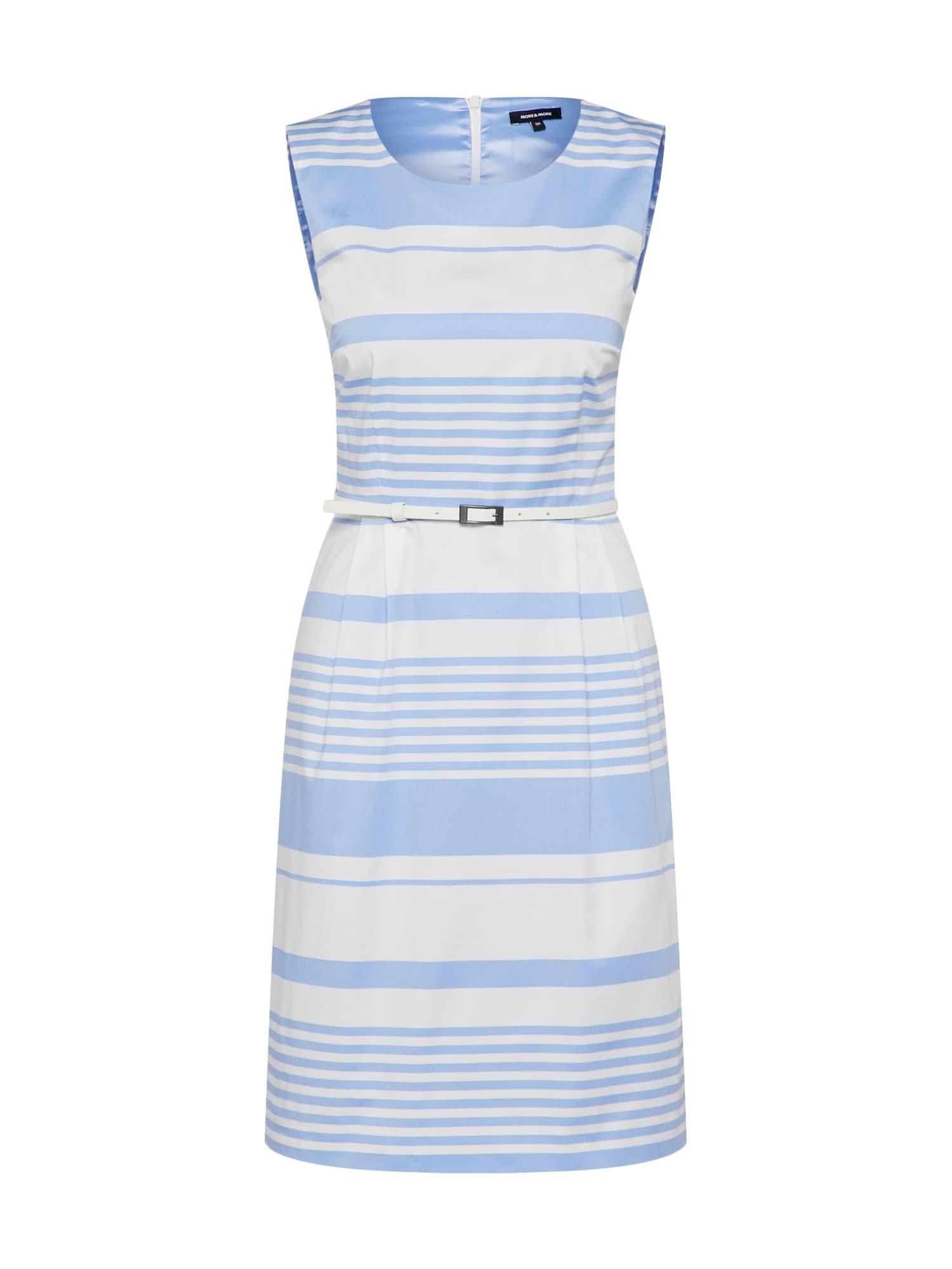 MORE & MORE Sukienka koktajlowa  kremowy / jasnoniebieski