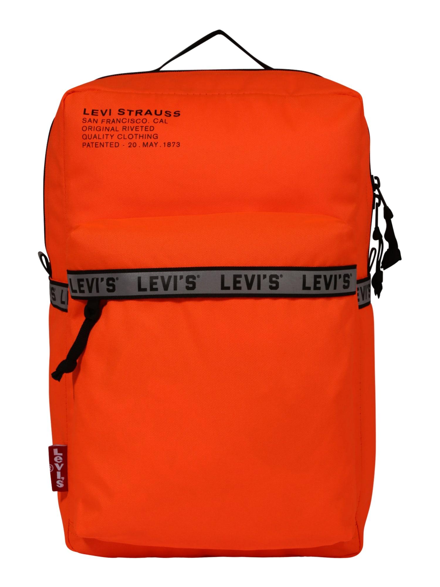 LEVI'S Batoh 'The Levi's® L Pack Standard Issue'  oranžová
