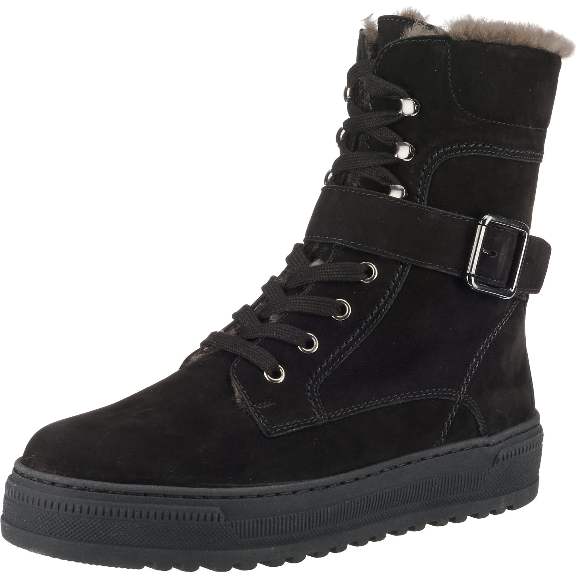 Winterstiefeletten   Schuhe > Stiefeletten > Winterstiefeletten   Schwarz   Gabor