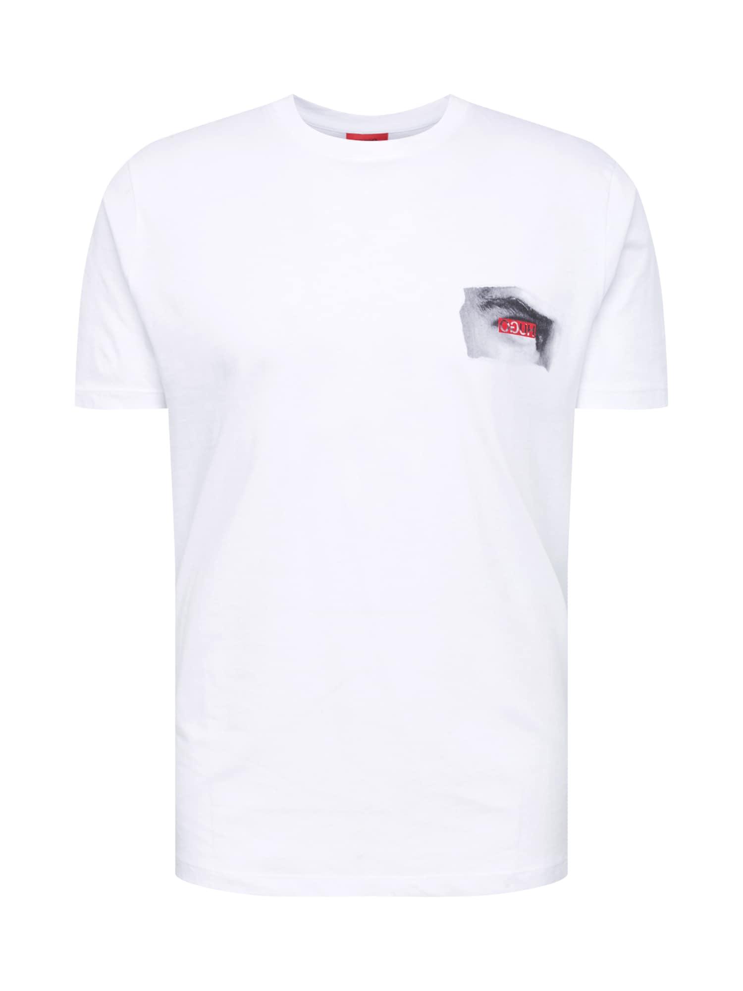 Tričko Deye bílá HUGO