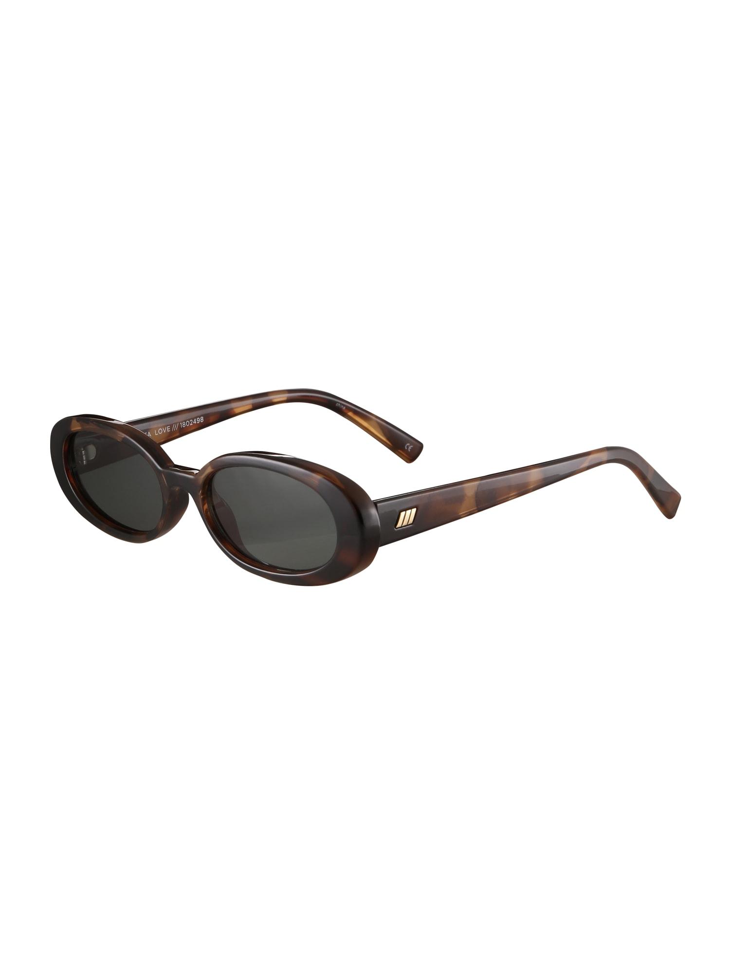 Sluneční brýle Outta Love hnědá LE SPECS