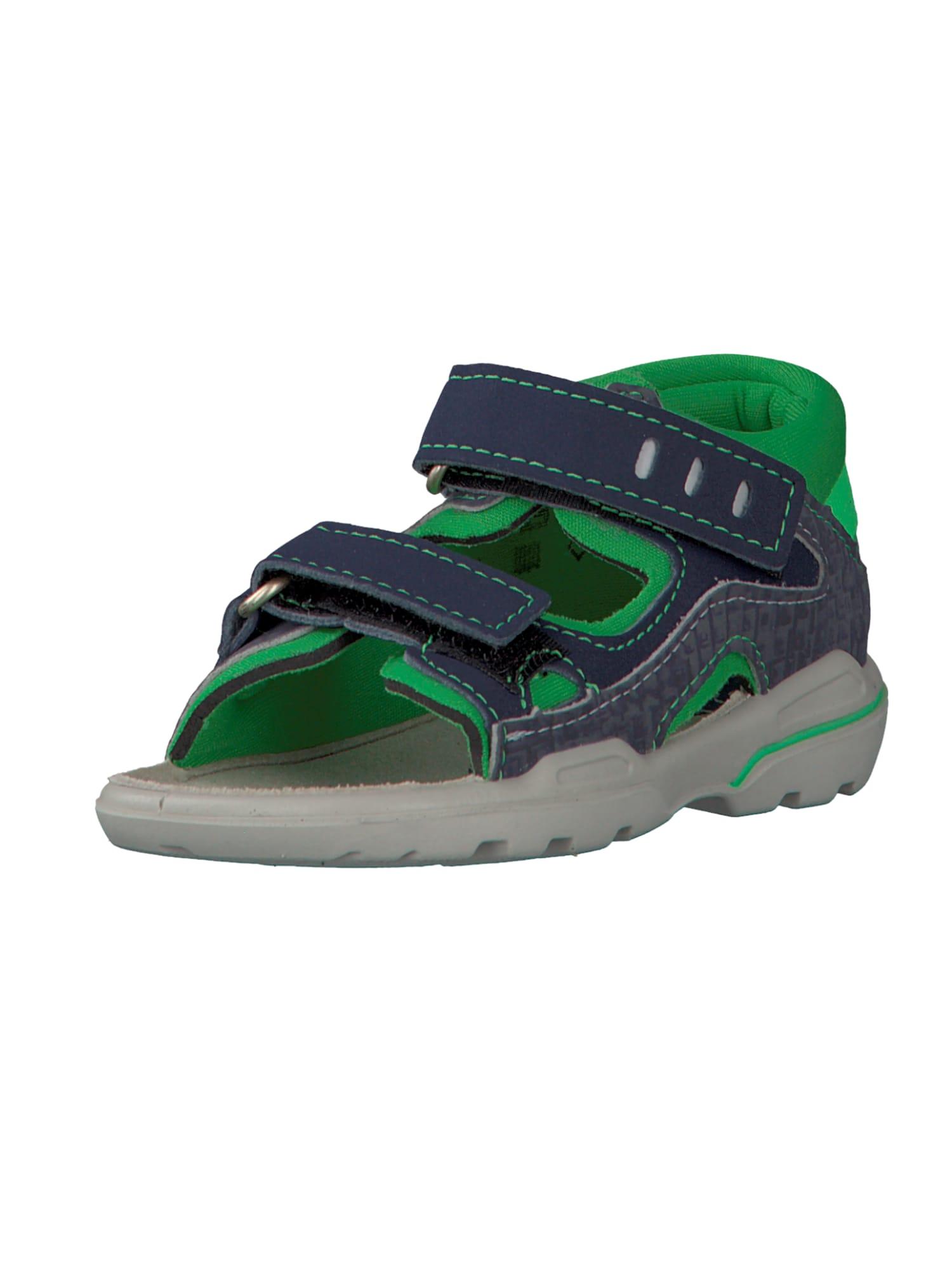 Otevřená obuv ESPI námořnická modř zelená Pepino