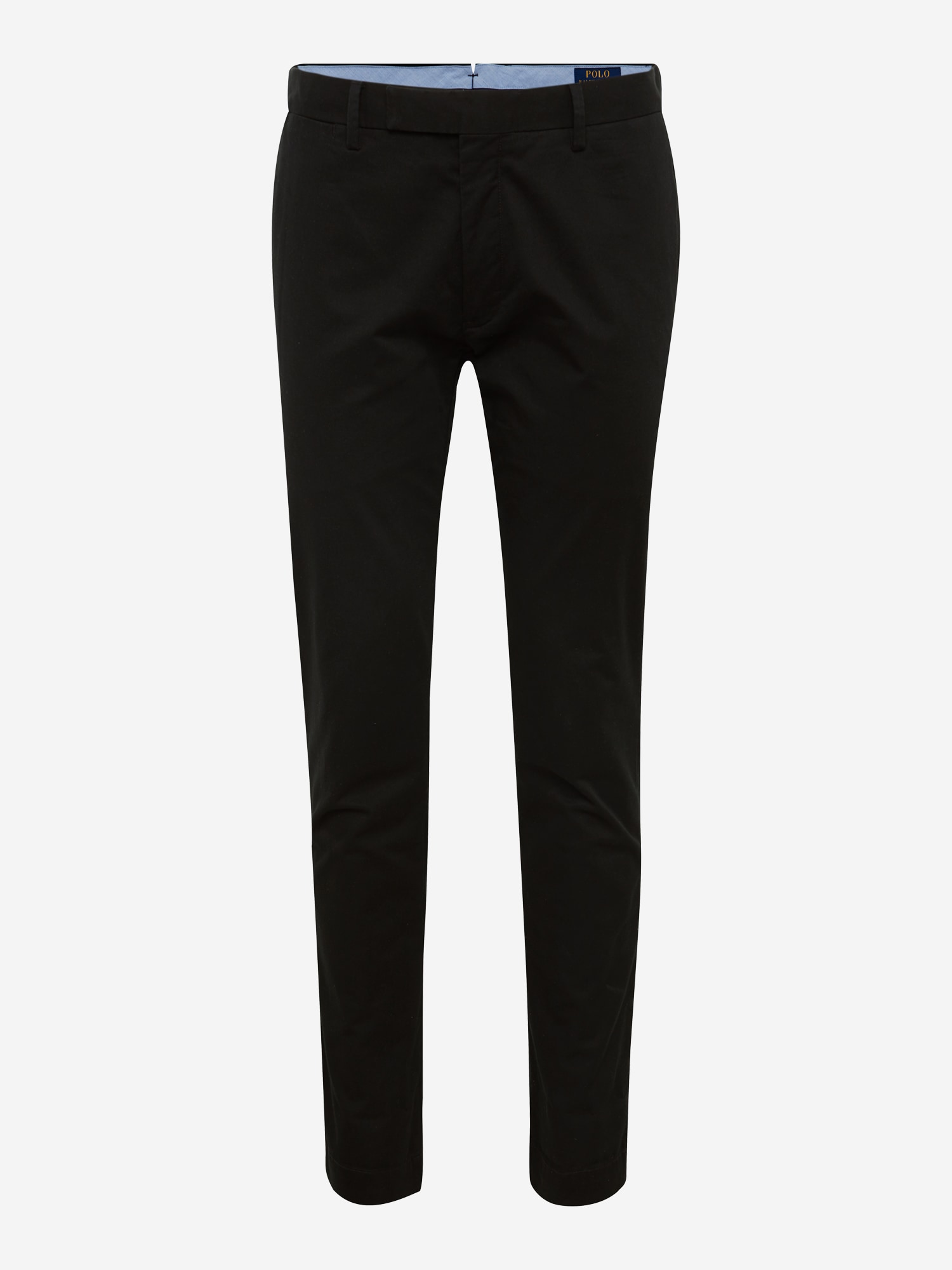 Chino kalhoty SLFHDNP-FLAT-PANT černá POLO RALPH LAUREN