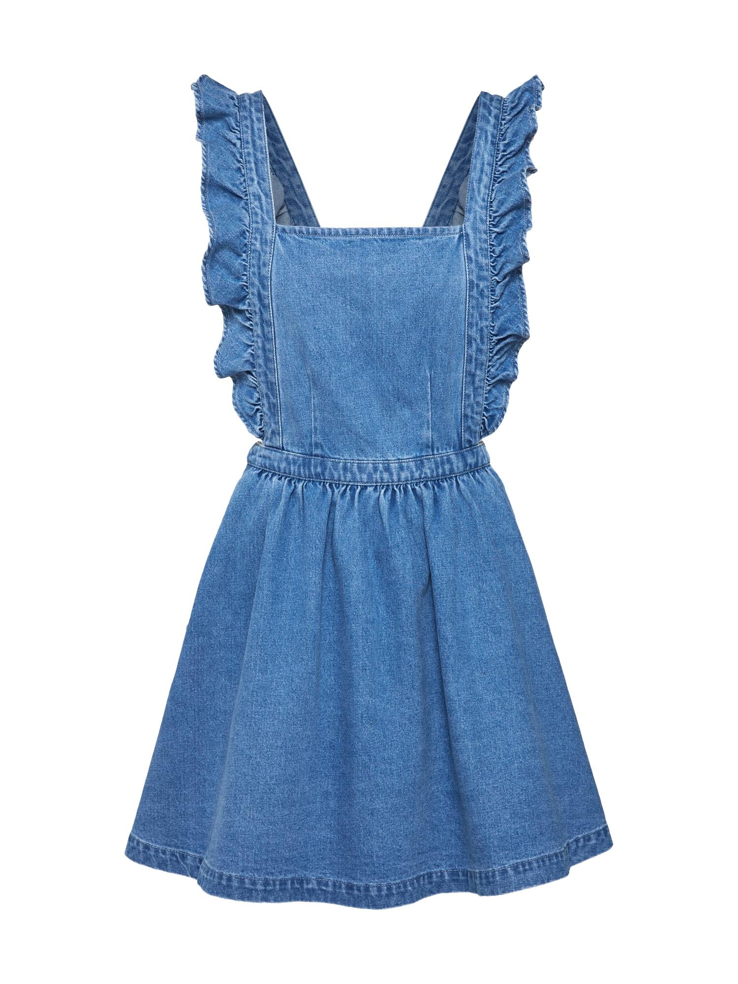 Laclová sukně CROSSBACK DENIM modrá džínovina Review