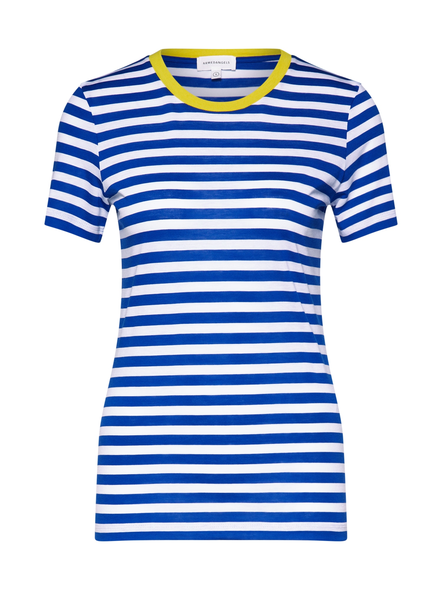 Tričko Lidaa modrá bílá ARMEDANGELS