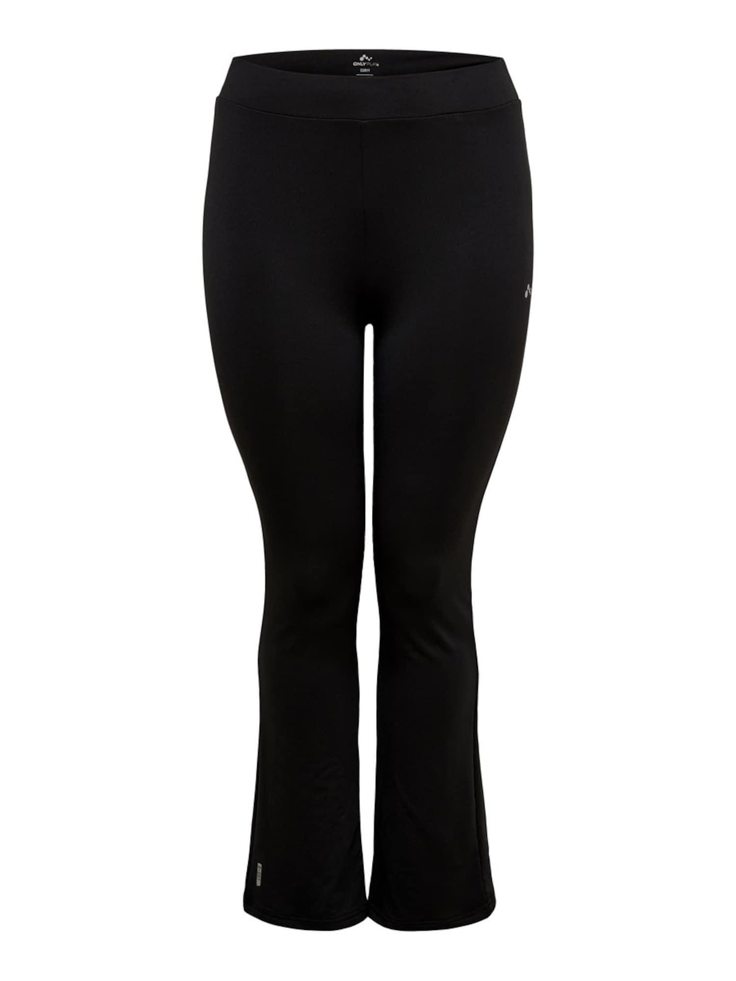 Sportovní kalhoty onpNICOLE JAZZ TRAINING PANTS - CURVY černá Only Play Curvy