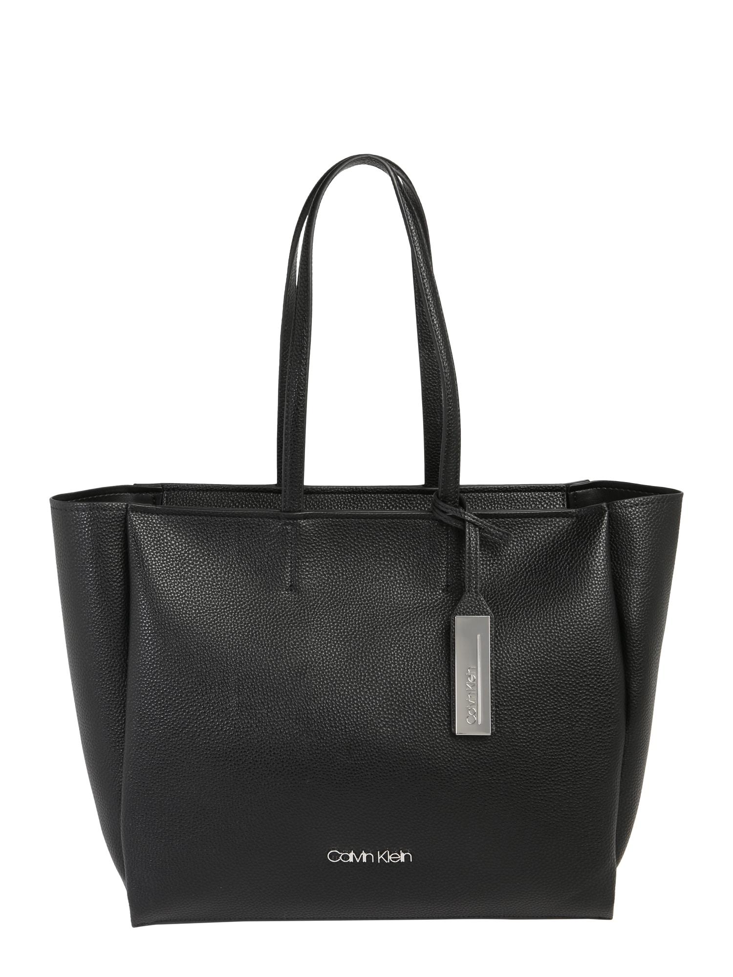 Nákupní taška SIDED SHOPPER černá Calvin Klein