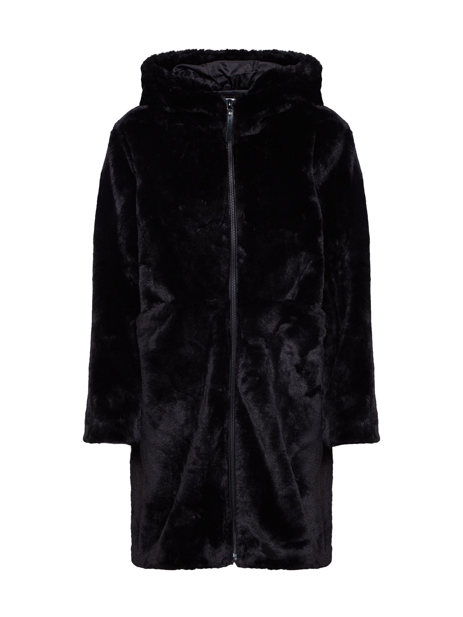 Zimní kabát NMCAJSA černá Noisy May