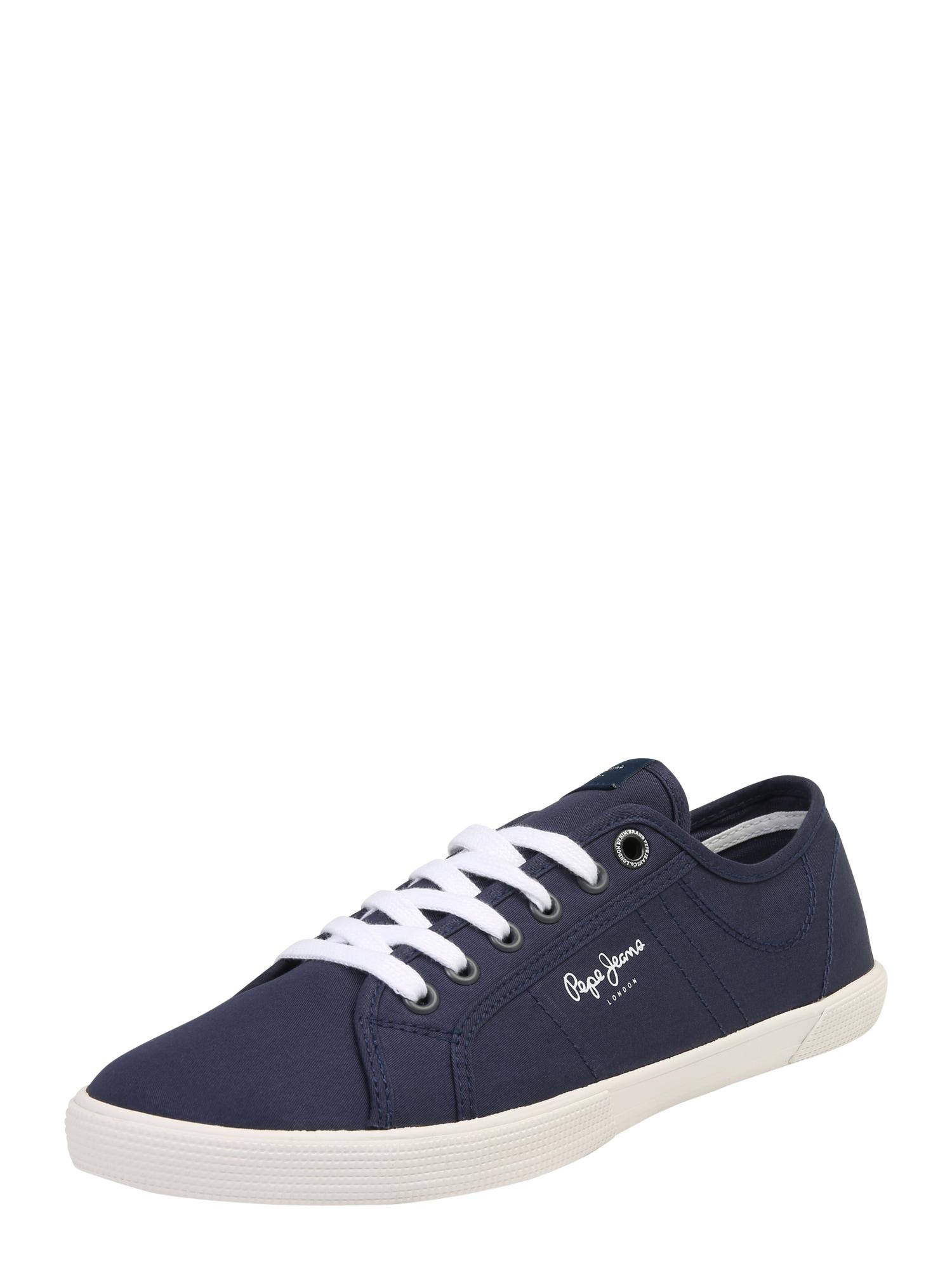 Pepe Jeans Heren Sneakers laag ABERMAN 2 1 navy