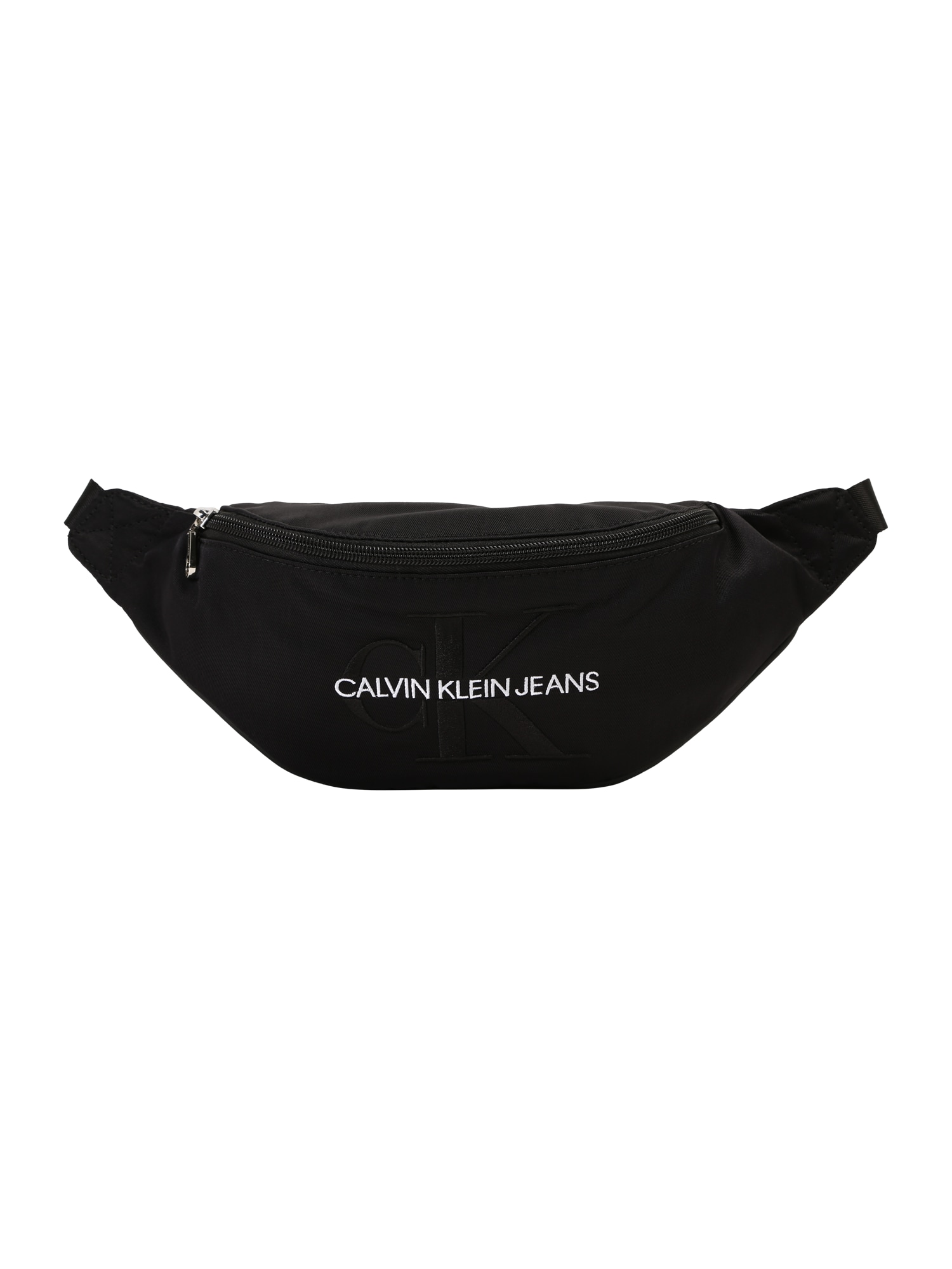 Calvin Klein Jeans Ledvinka 'MONOGRAM STREET PACK'  černá