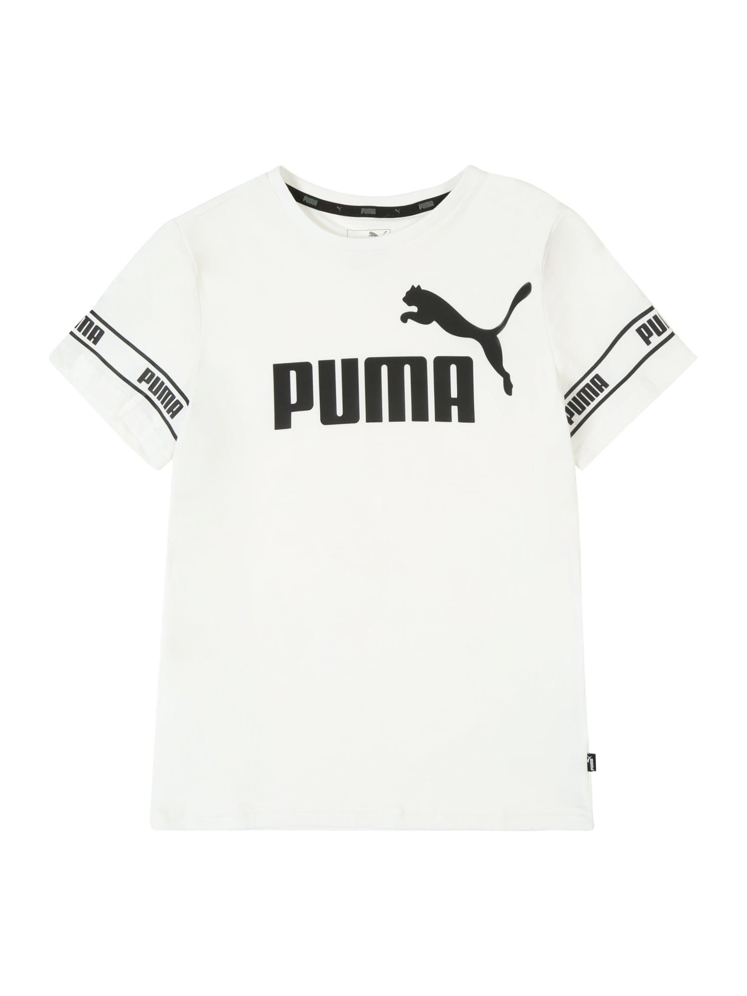 Funkční tričko Amplified černá bílá PUMA