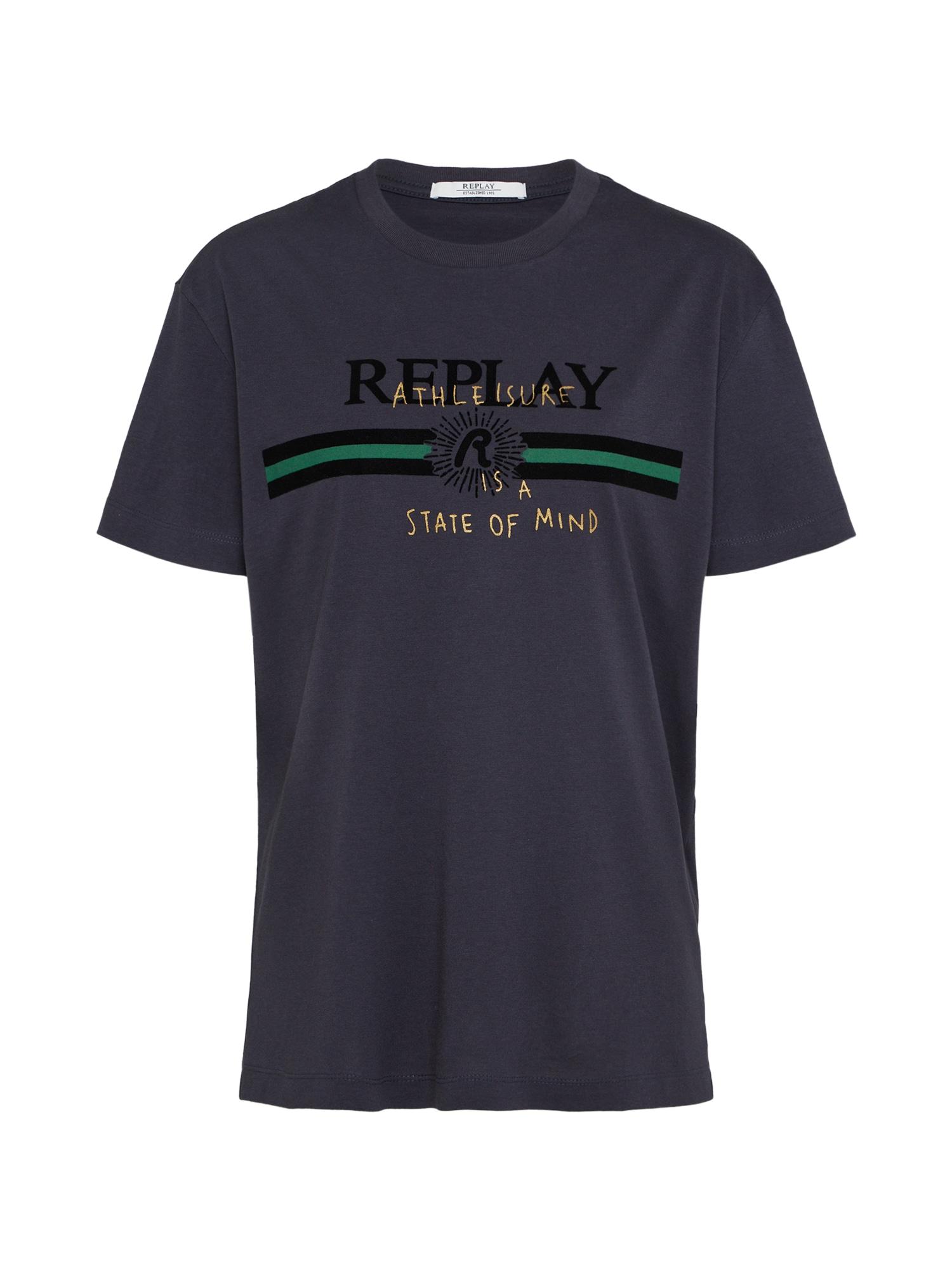 REPLAY Dames Shirt blauw