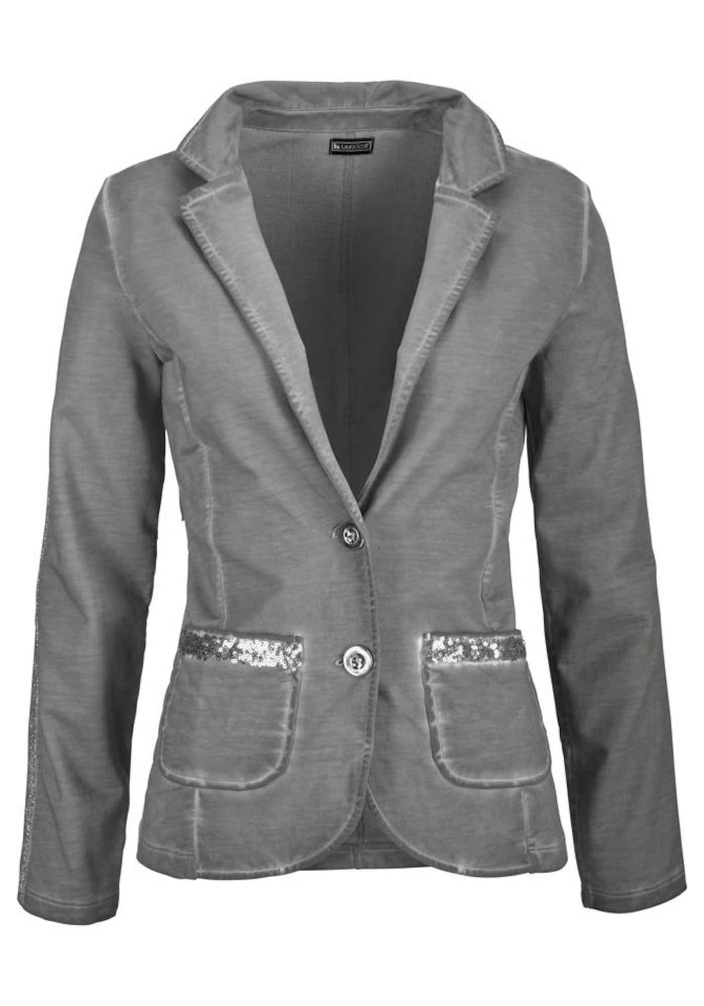 Sweatblazer | Bekleidung > Blazer > Sweatblazer | Grau | laura scott