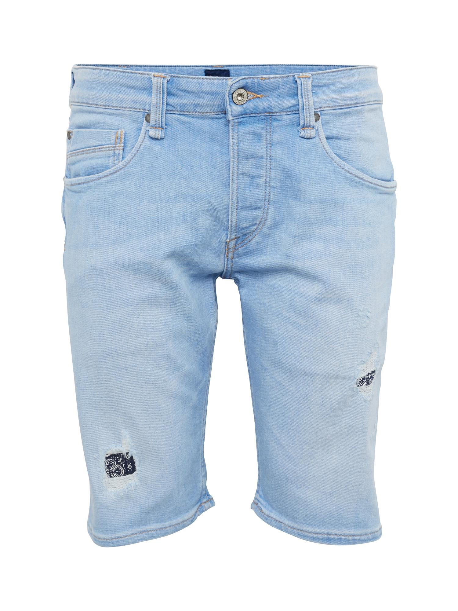 Pepe Jeans Heren Jeans ZINC PATCHED blue denim