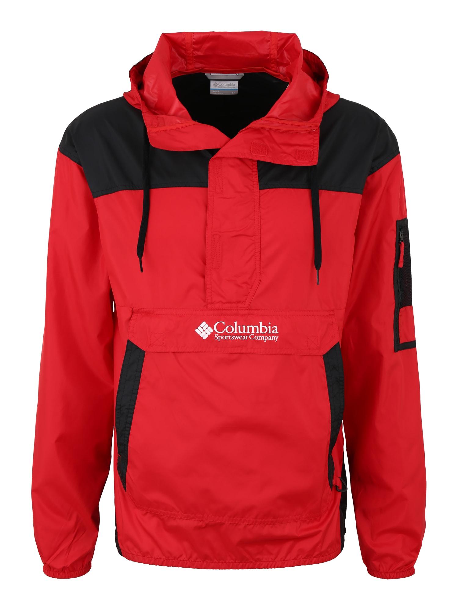 Outdoorová bunda Challenger červená černá COLUMBIA