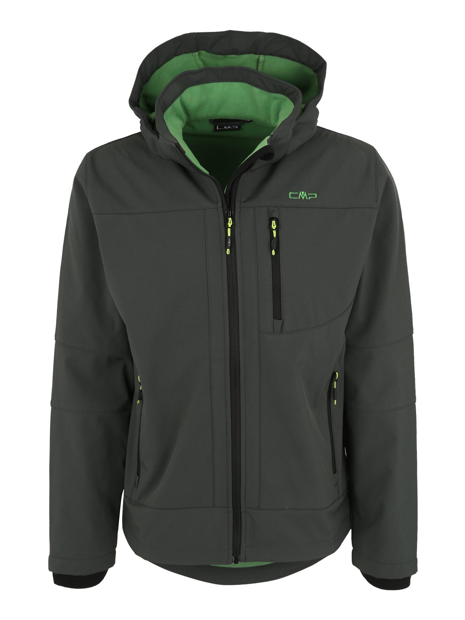Outdoorová bunda tmavě zelená CMP