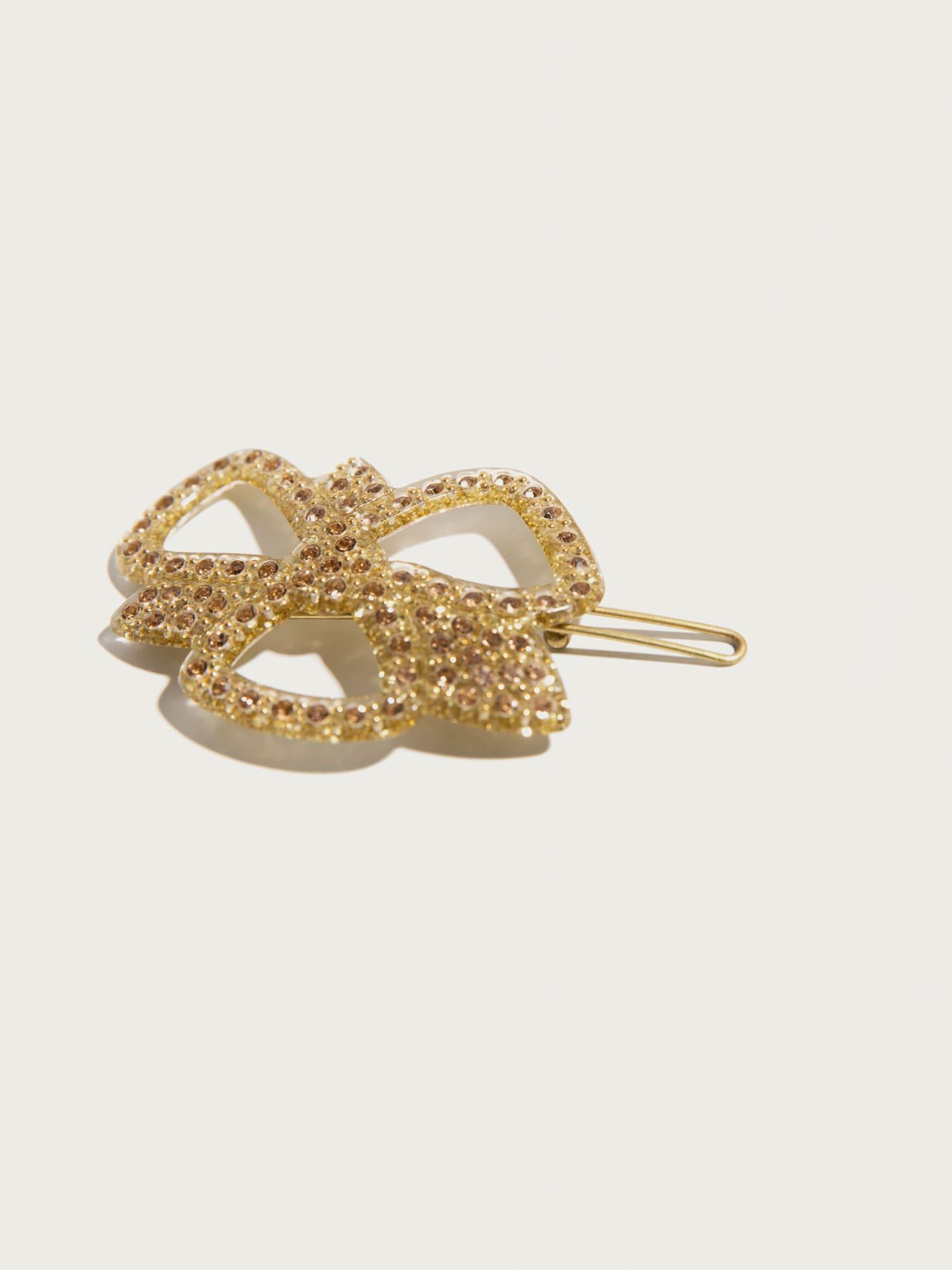 Šperky do vlasů Ribbon  zlatá Pico For EDITED