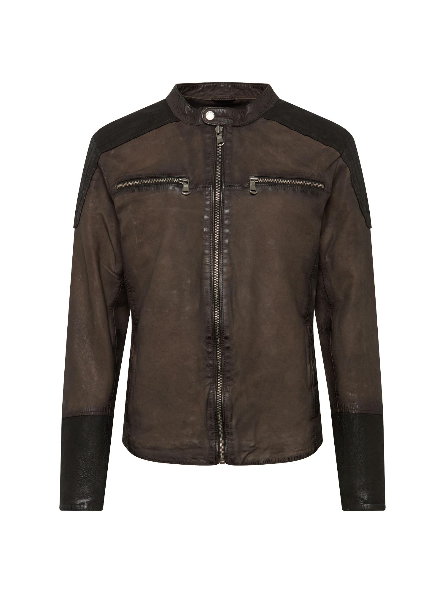 Přechodná bunda Mersey khaki černá FREAKY NATION