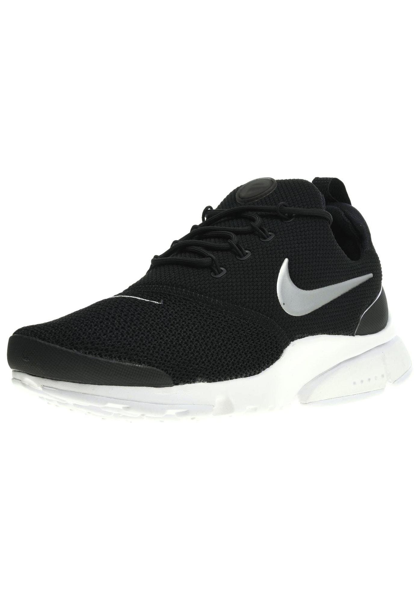 Nike Sportswear, Dames Sneakers laag 'Presto Fly', zwart