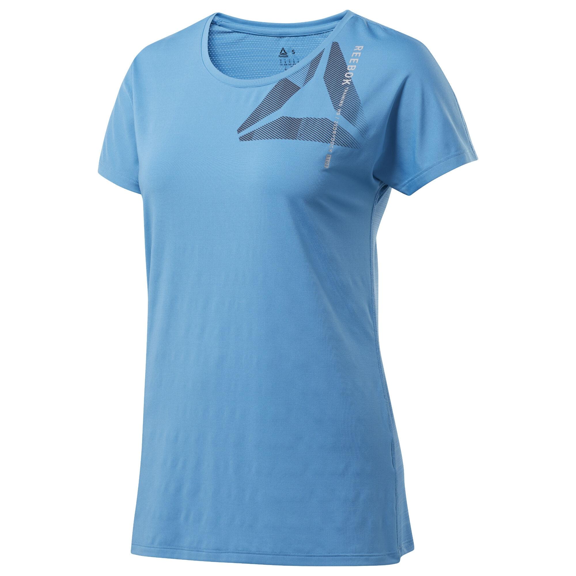 Sportshirt 'ACTIVCHILL' | Sportbekleidung > Sportshirts > T-Shirts | Hellblau | Reebok